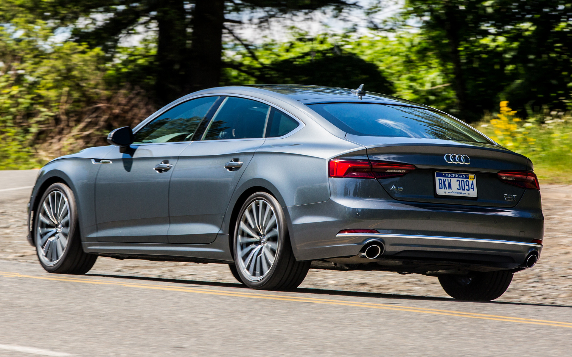 Audi A5 Sportback 2018 Us Wallpapers And Hd Images Car Pixel
