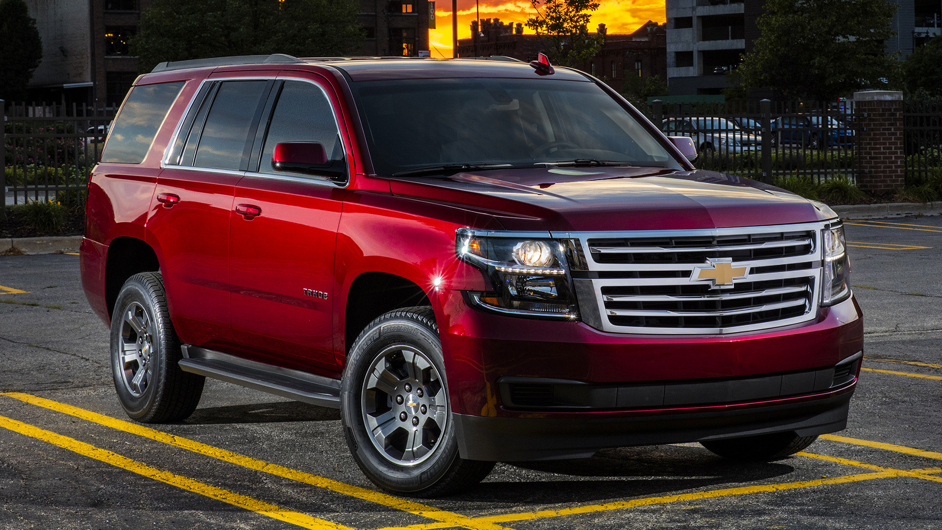2018 Chevrolet Tahoe Custom Edition - Wallpapers and HD ...