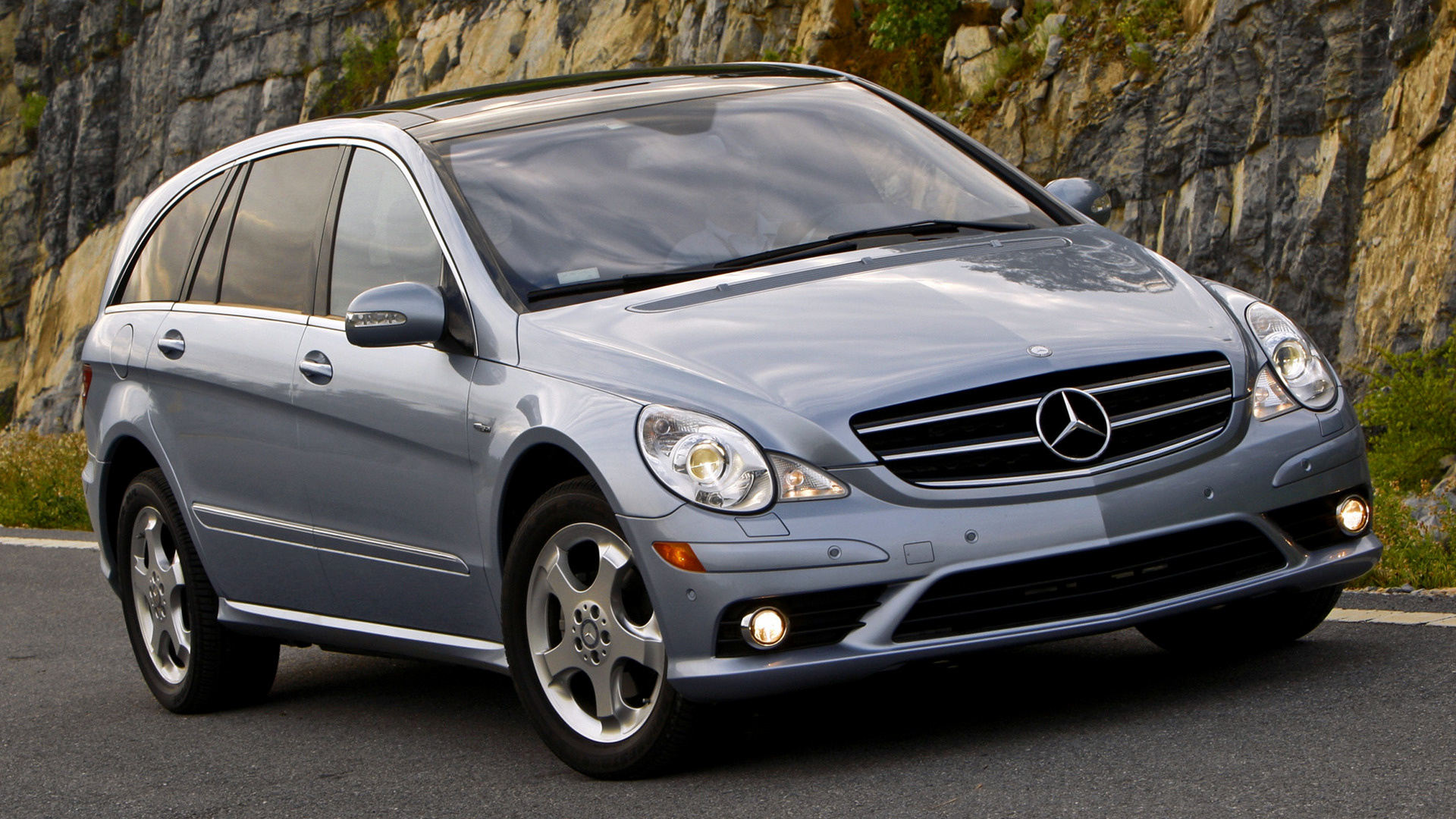 mercedes benz r class amg styling long 2006 us wallpapers and hd images car pixel. Black Bedroom Furniture Sets. Home Design Ideas