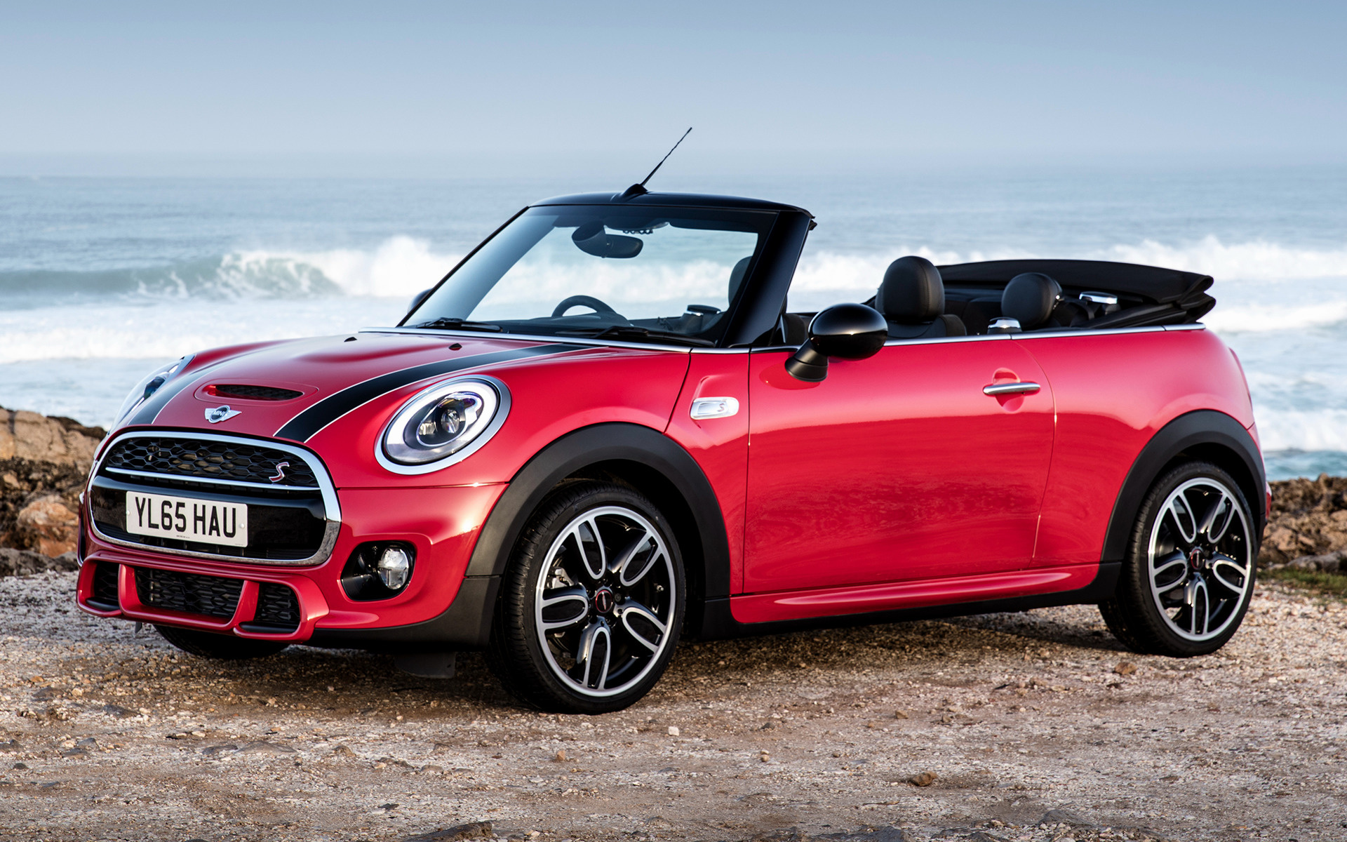 Mini Cooper S Convertible JCW Package (2015) UK Wallpapers and HD ...