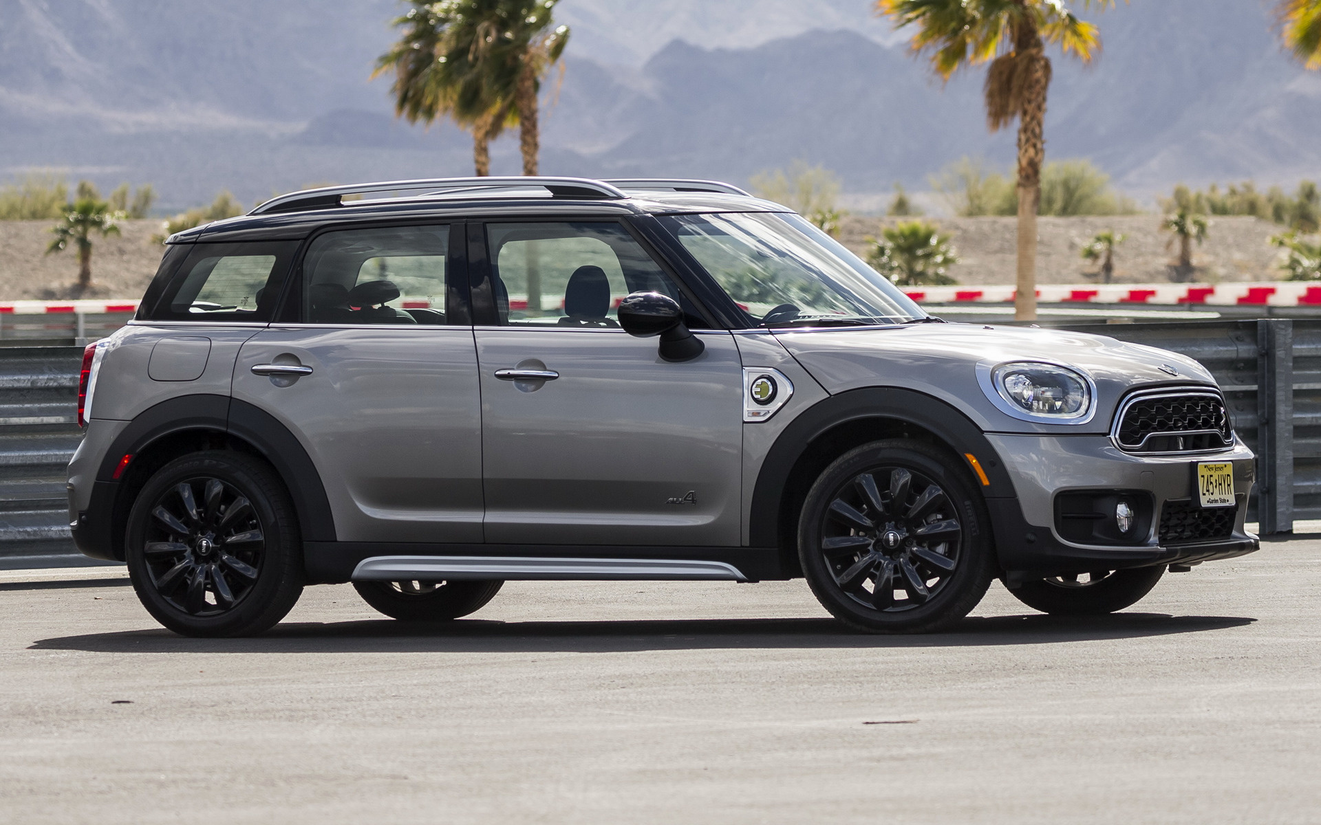 Mini Cooper S E Countryman 2018 Us Wallpapers And Hd