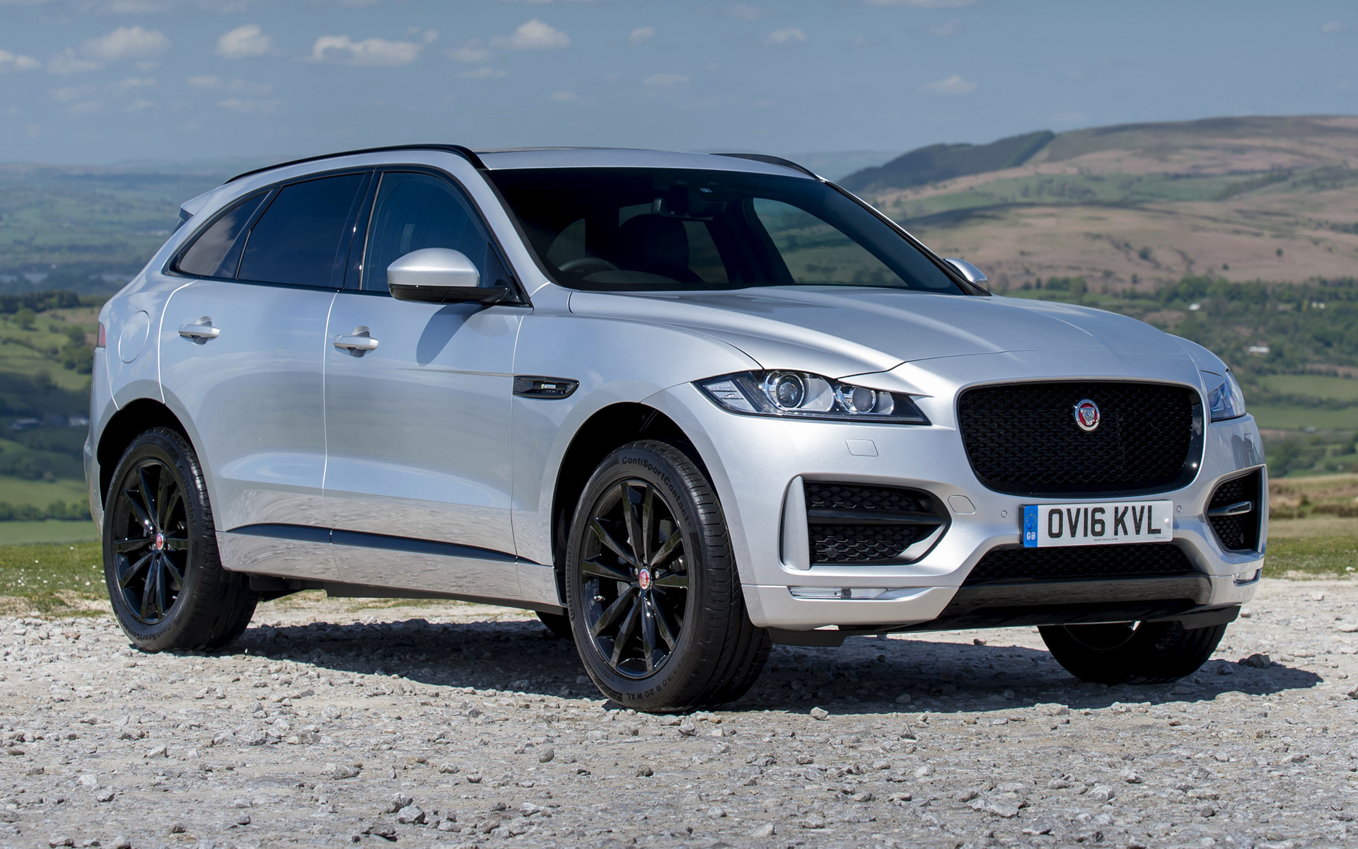 Jaguar F-Pace R-Sport (2016) UK Wallpapers and HD Images ...