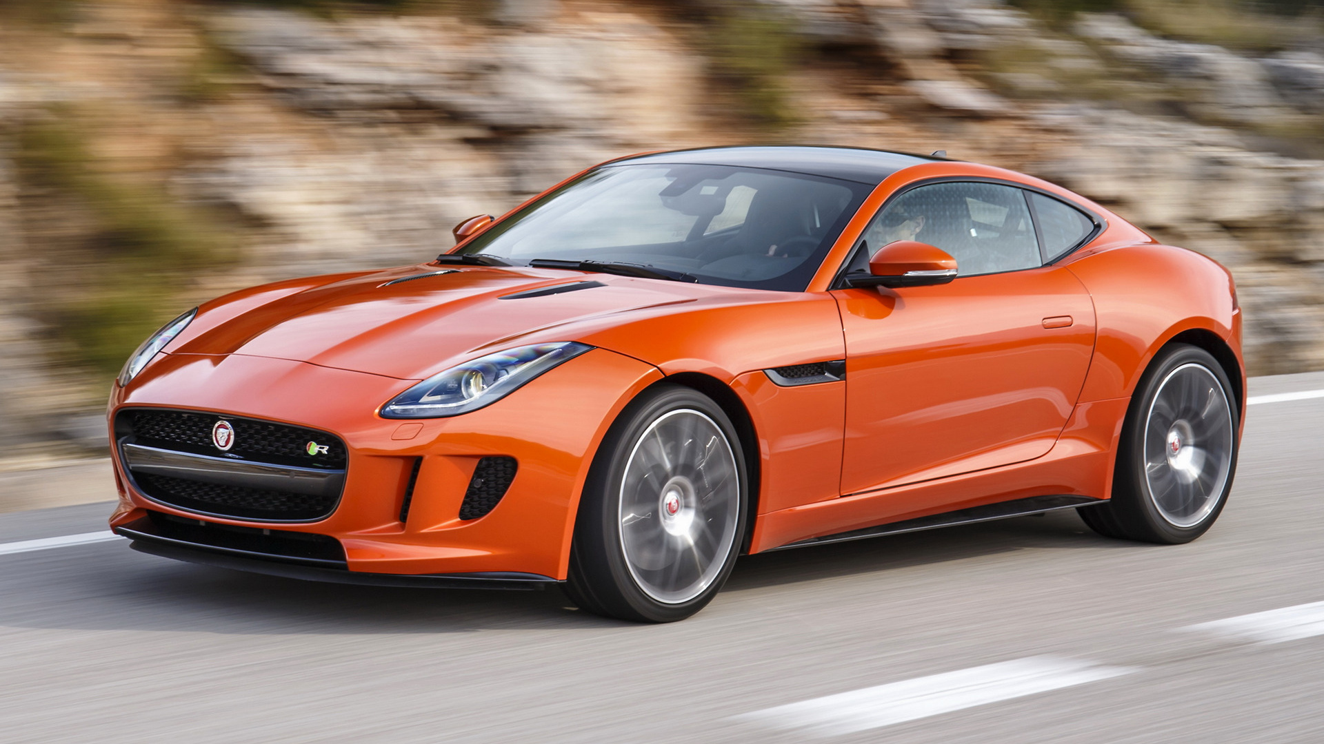 F Type Coupe >> 2014 Jaguar F-Type R Coupe - Wallpapers and HD Images | Car Pixel