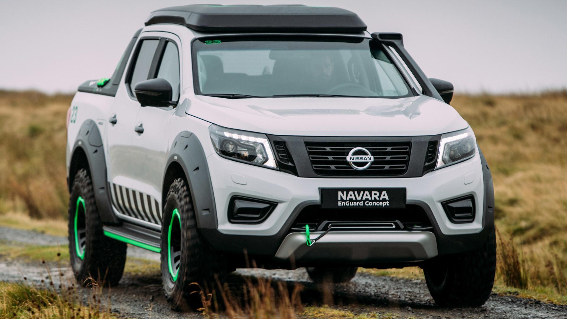 Nissan Navara EnGuard Concept (2016) Wallpapers and HD ...
