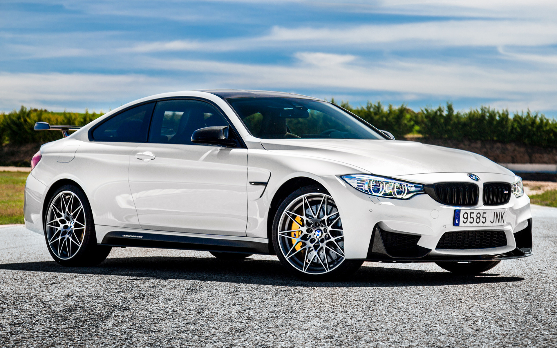 2016 Hyundai Genesis Coupe >> 2016 BMW M4 Coupe Competition Sport Edition - Wallpapers and HD Images | Car Pixel