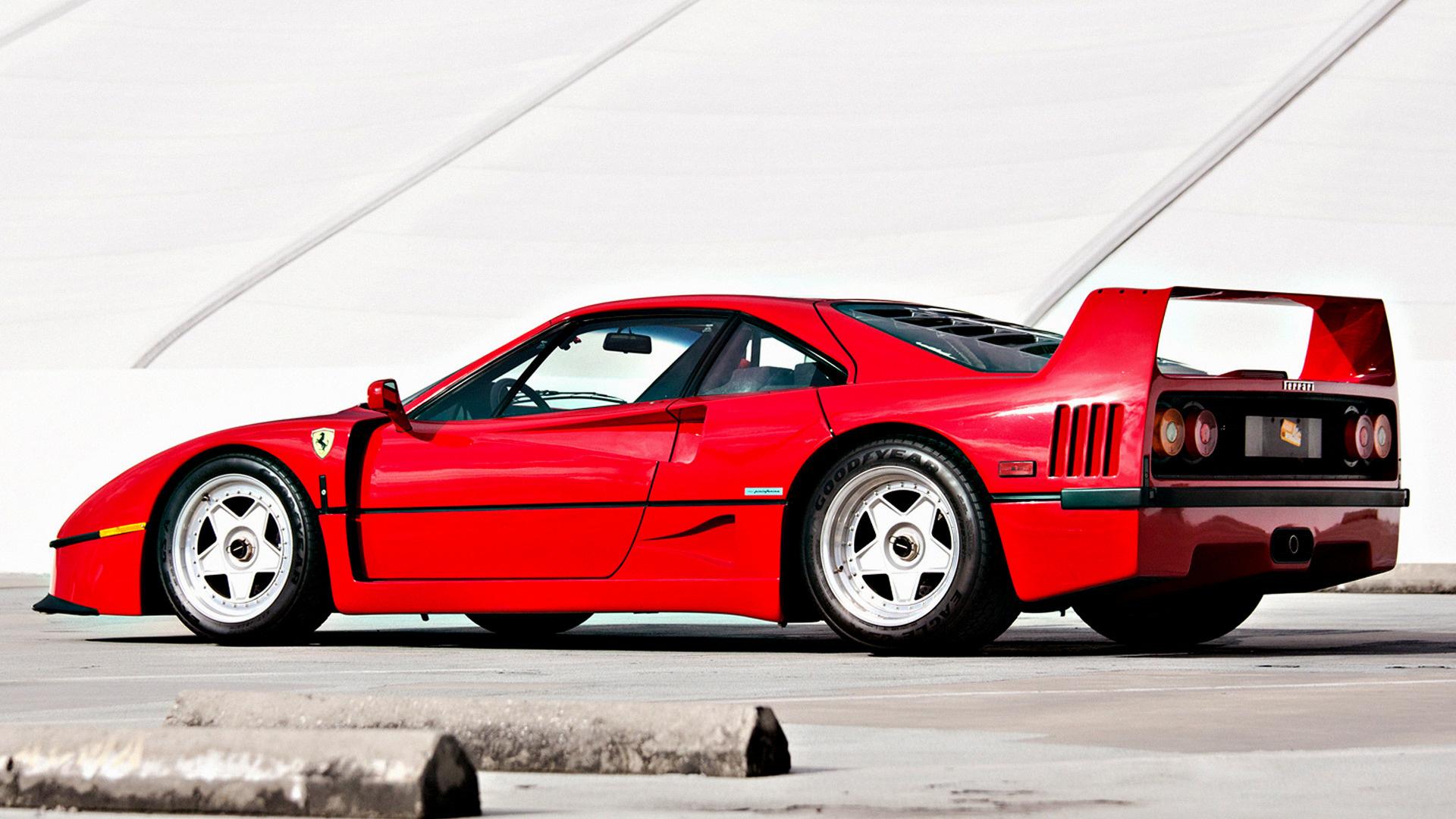 1989 Ferrari F40 (US) , Hintergrundbilder und Wallpaper in