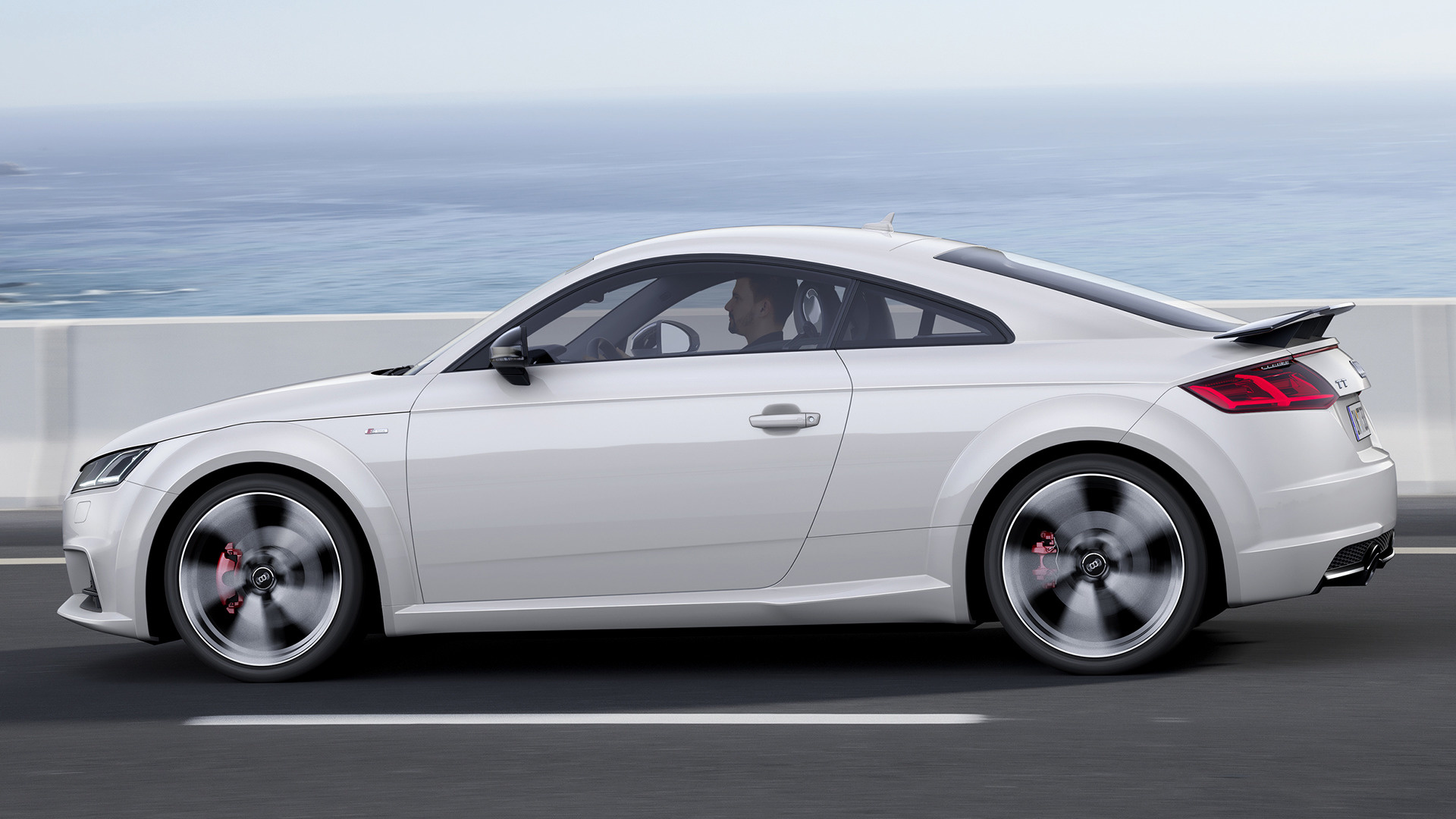 audi tt coupe s line competition 2016 wallpapers and hd images car pixel. Black Bedroom Furniture Sets. Home Design Ideas