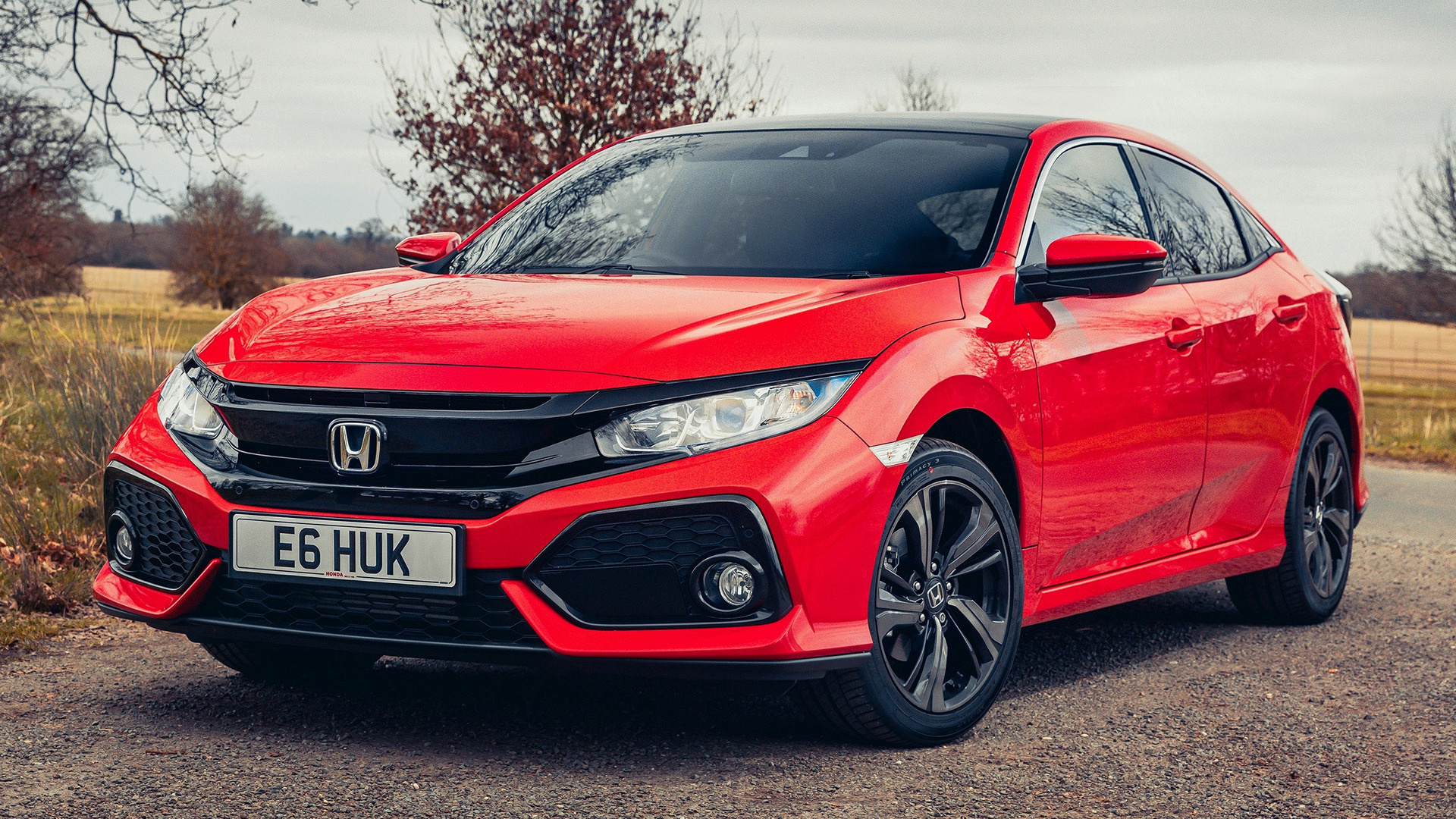 honda civic (2017) uk wallpapers and hd images - car pixel