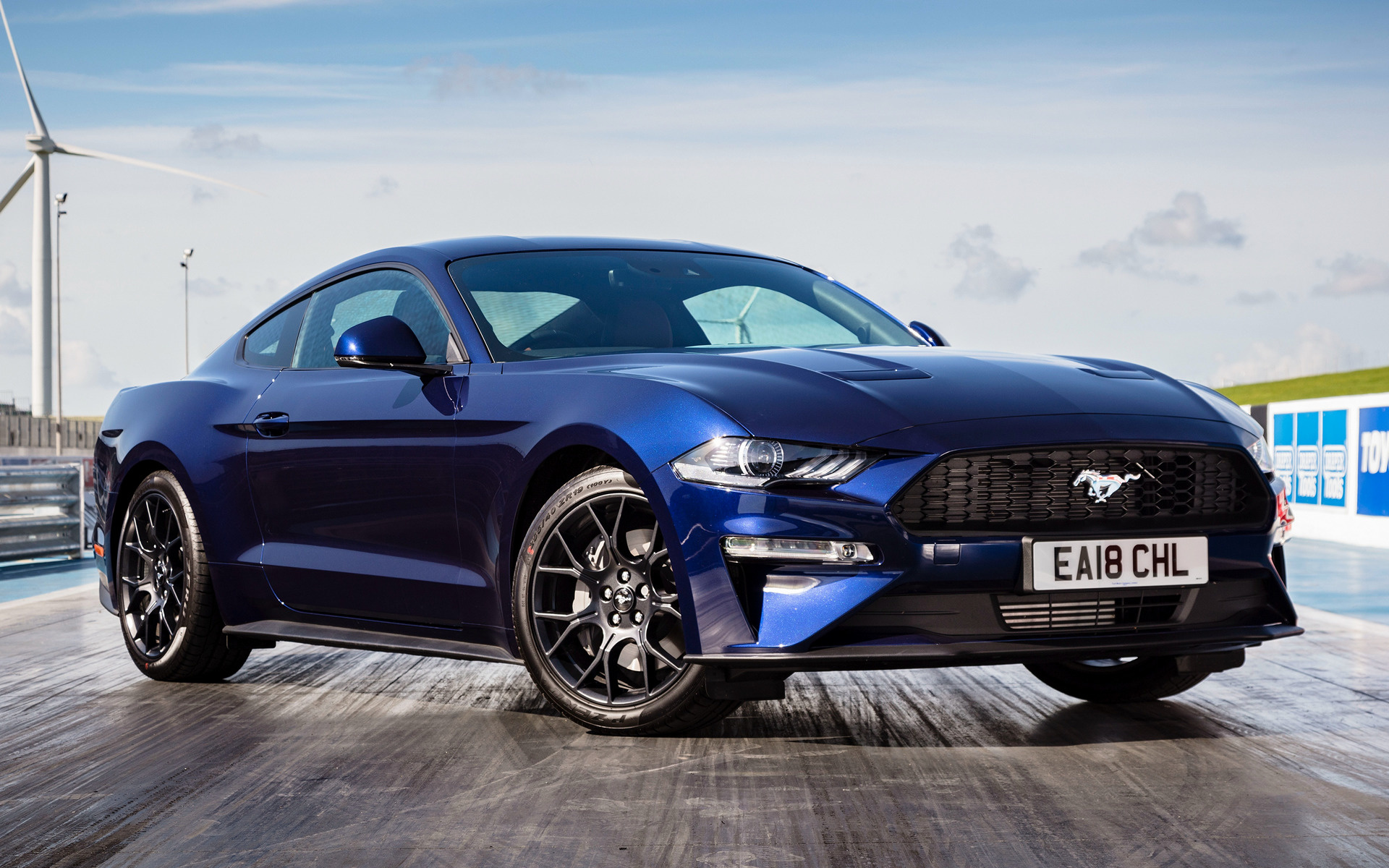 Ford Mustang Ecoboost >> 2018 Ford Mustang (UK) - Wallpapers and HD Images | Car Pixel