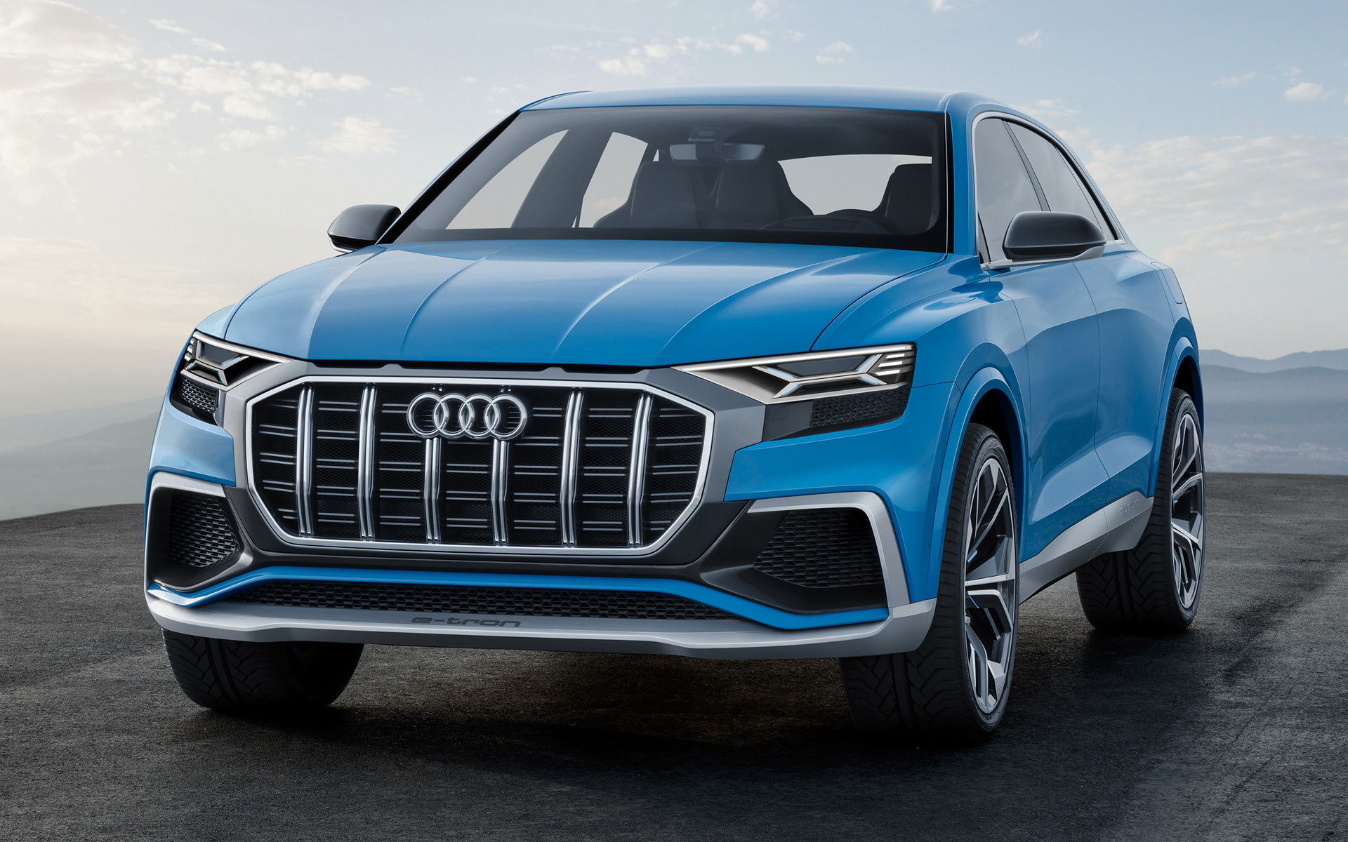 2017 Audi Q8 concept - Wallpapers and HD Images | Car Pixel