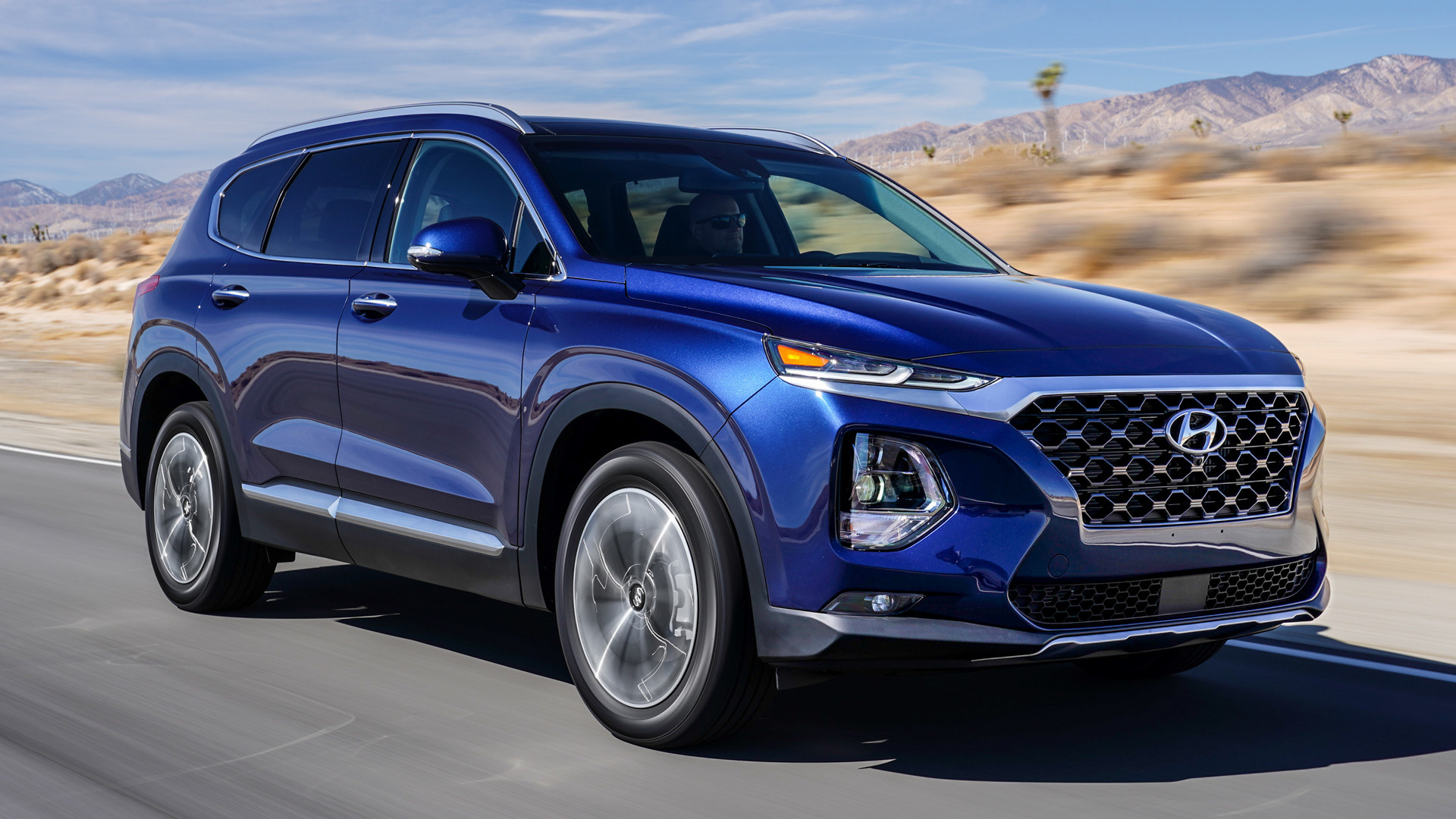 Santa Fe Toyota >> 2019 Hyundai Santa Fe (US) - Wallpapers and HD Images | Car Pixel