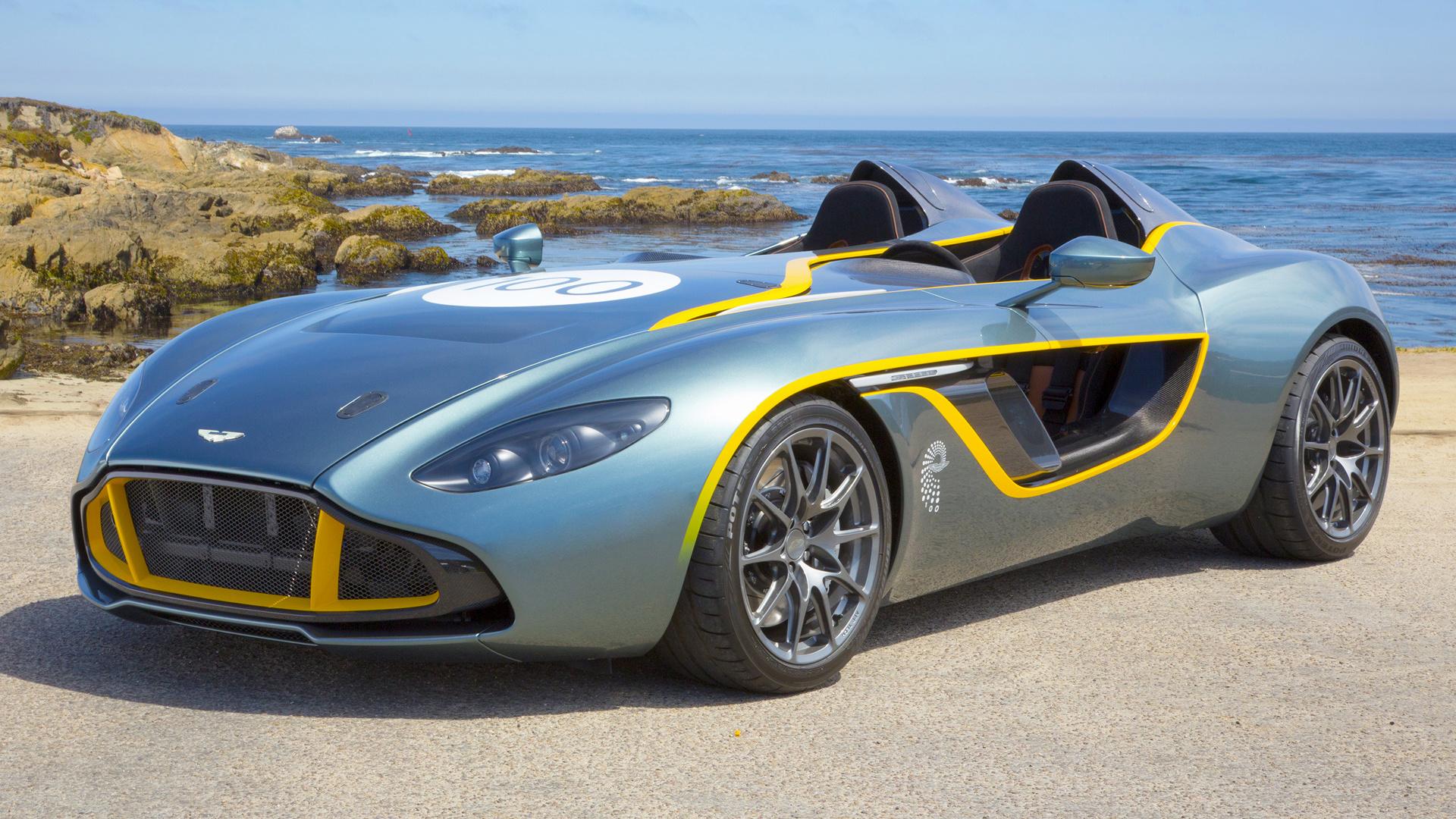 Aston Martin V12 Zagato >> 2013 Aston Martin CC100 Speedster Concept - Wallpapers and ...