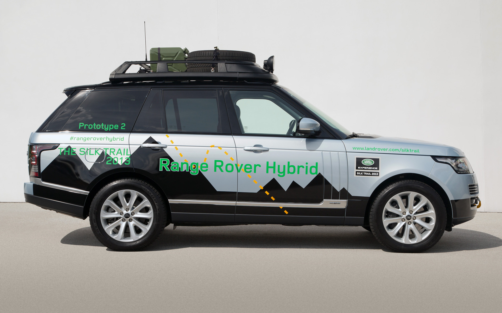 range rover hybrid prototype 2013 wallpapers and hd images car pixel. Black Bedroom Furniture Sets. Home Design Ideas