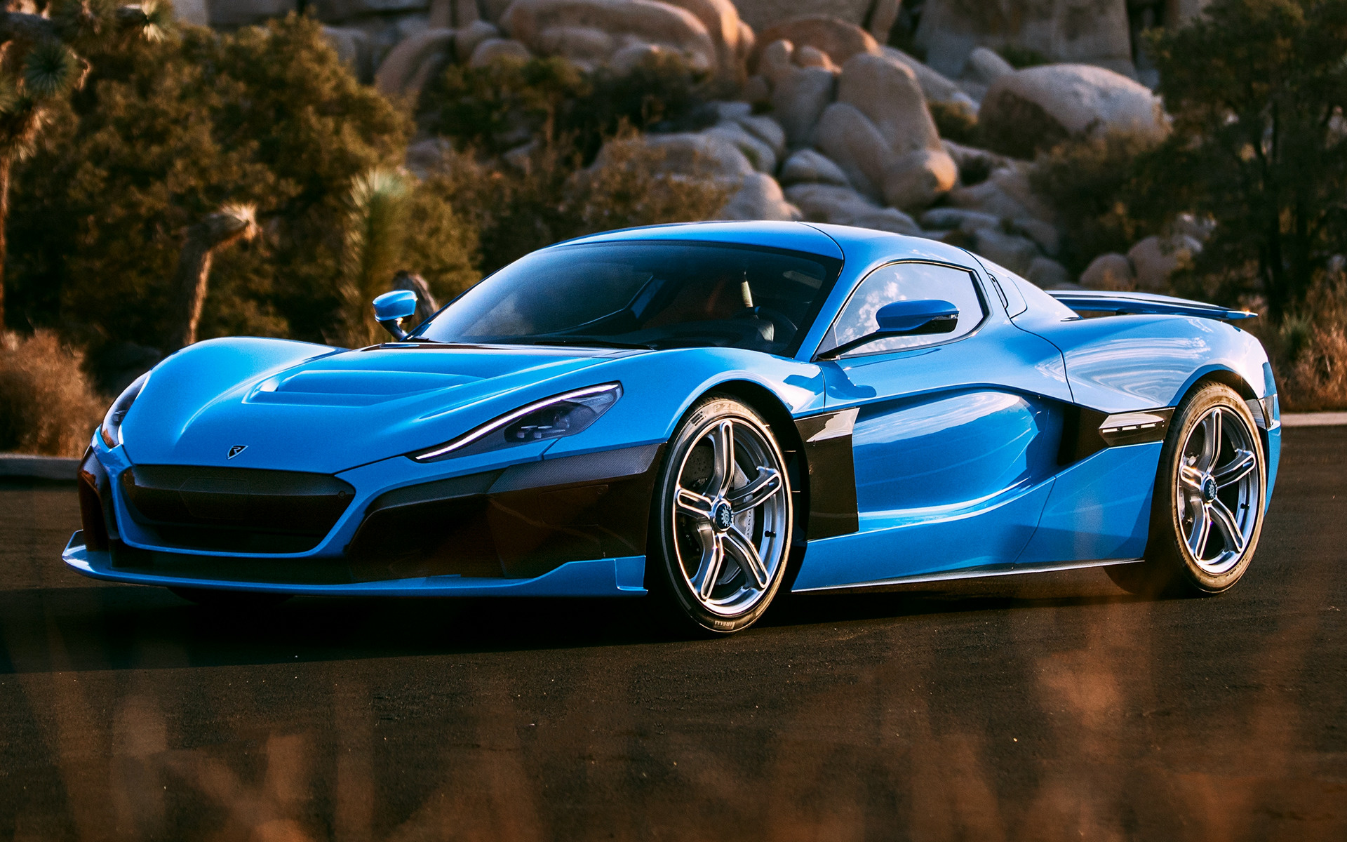 2019 Rimac C Two California Edition - Wallpapers and HD