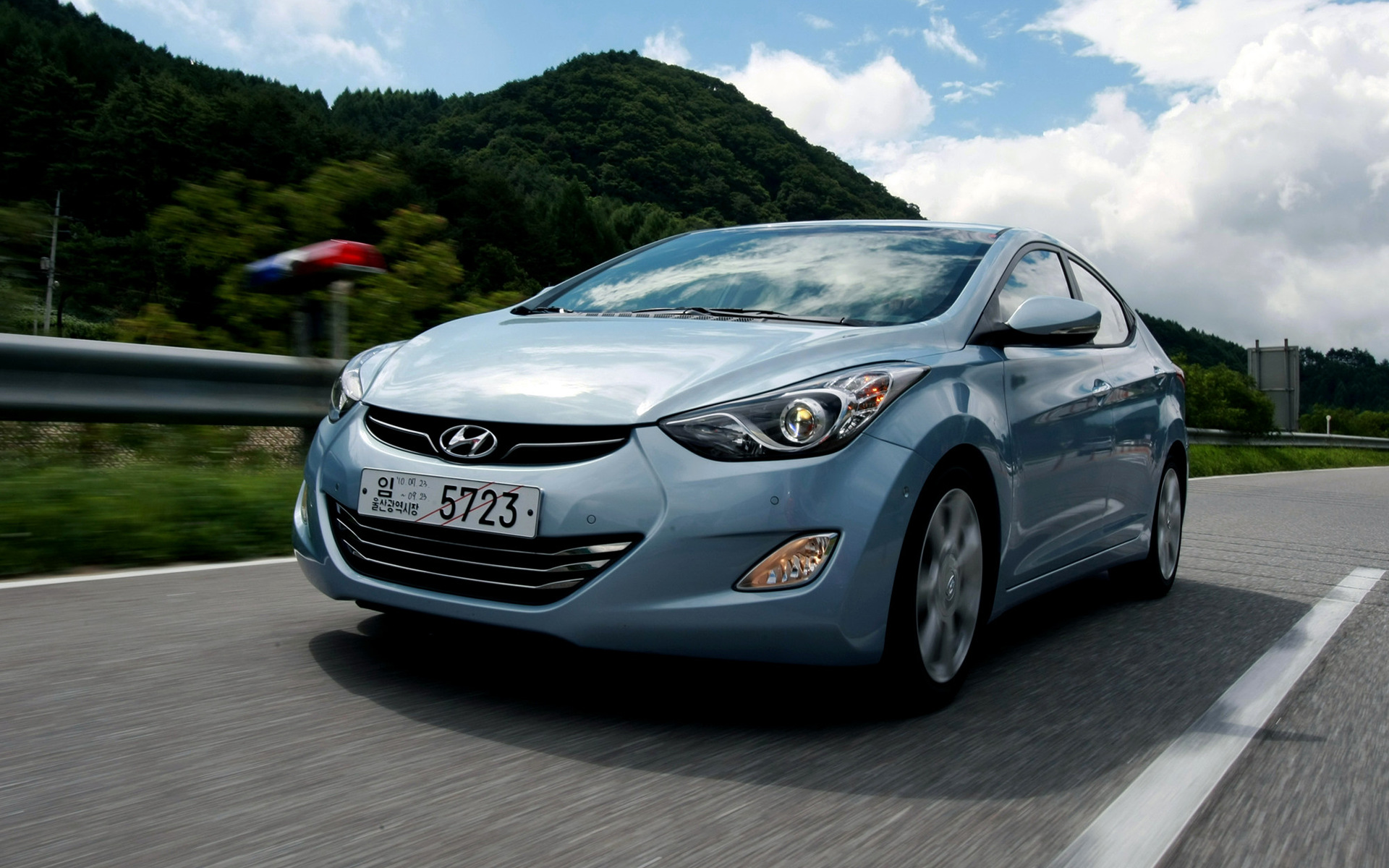 2010 Hyundai Avante - Wallpapers and HD Images | Car Pixel