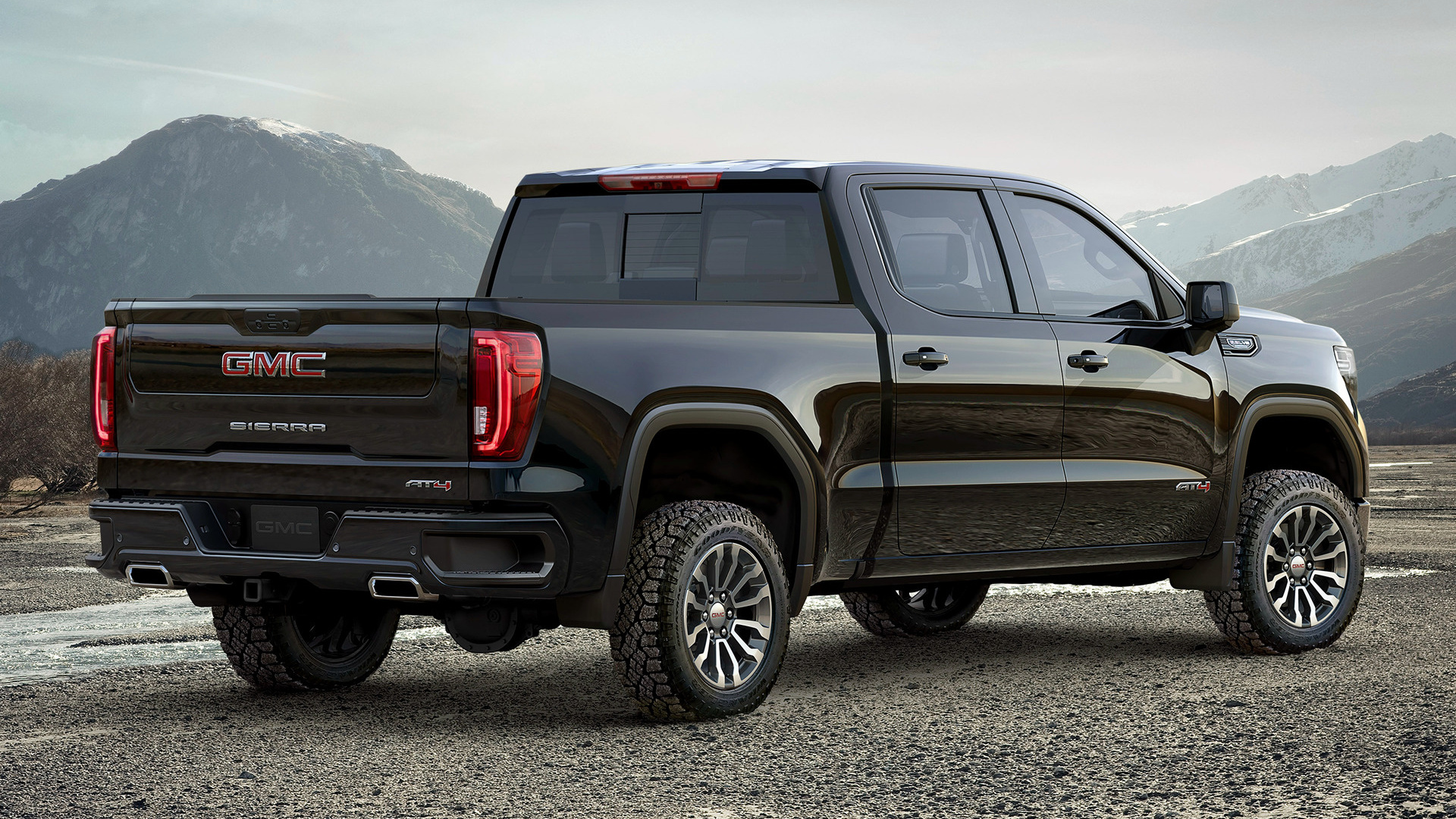 2017 Gmc Sierra Elevation >> 2019 GMC Sierra AT4 Crew Cab - Wallpapers and HD Images ...