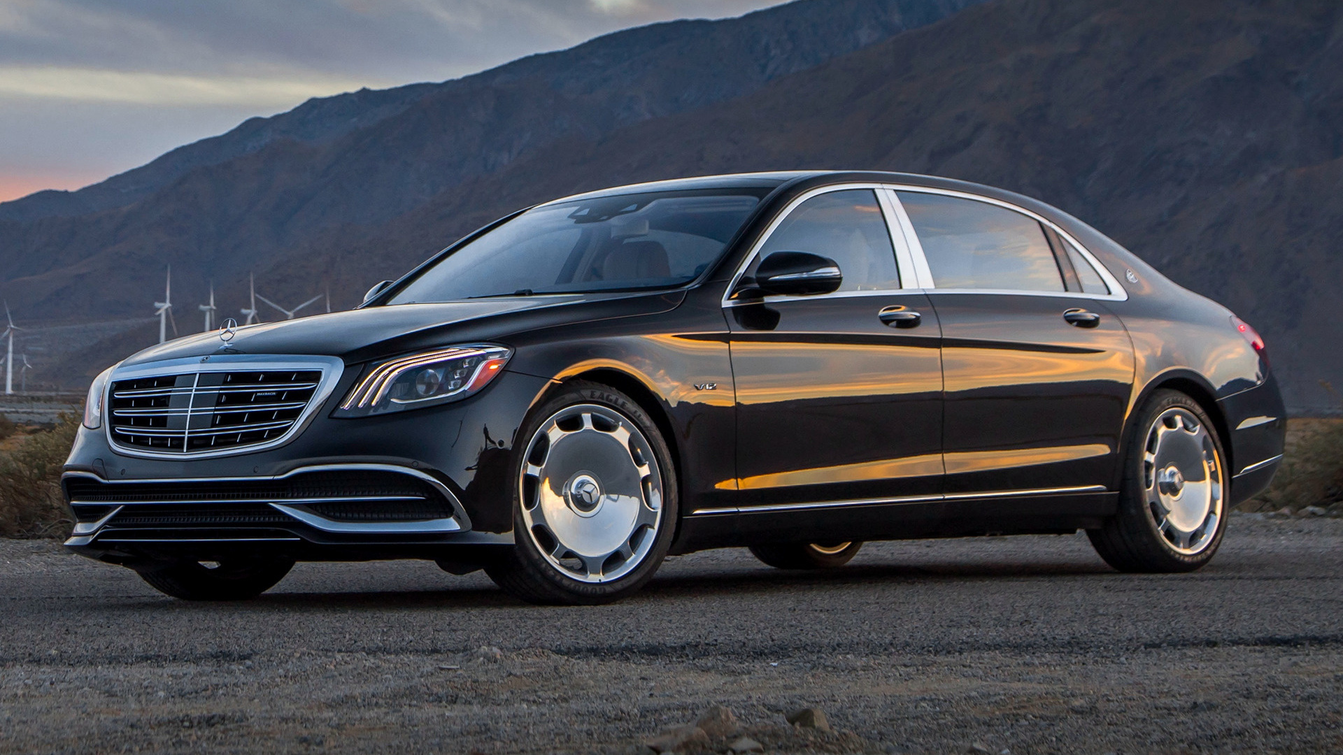 2018 Mercedes-Maybach S-Class (US) - Wallpapers and HD ...