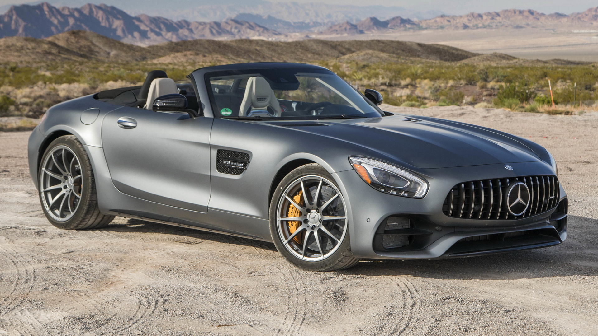 Mercedes-AMG GT C Roadster (2017) US Wallpapers and HD Images - Car ...