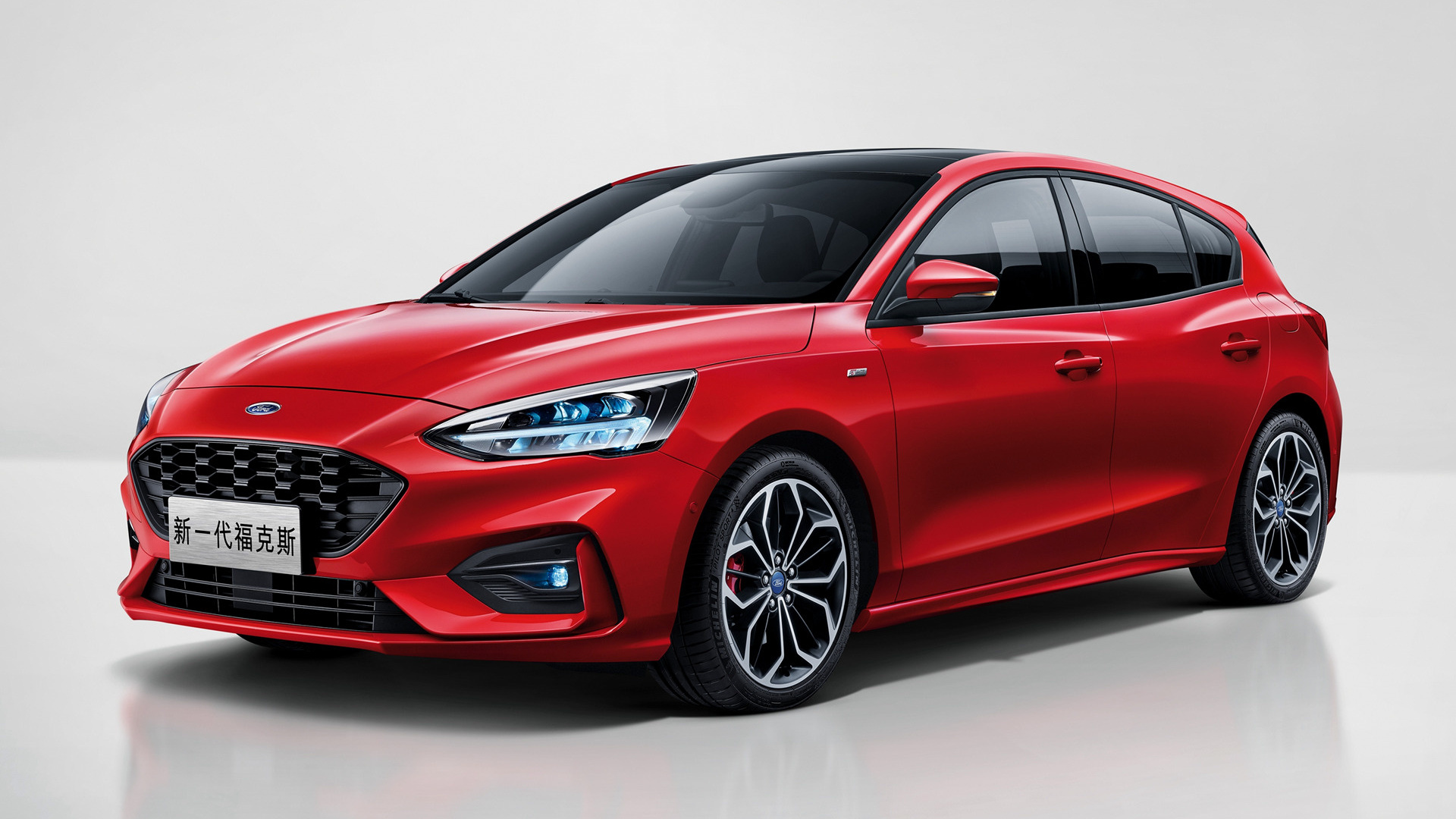 2018 ford focus st line cn wallpapers and hd images. Black Bedroom Furniture Sets. Home Design Ideas
