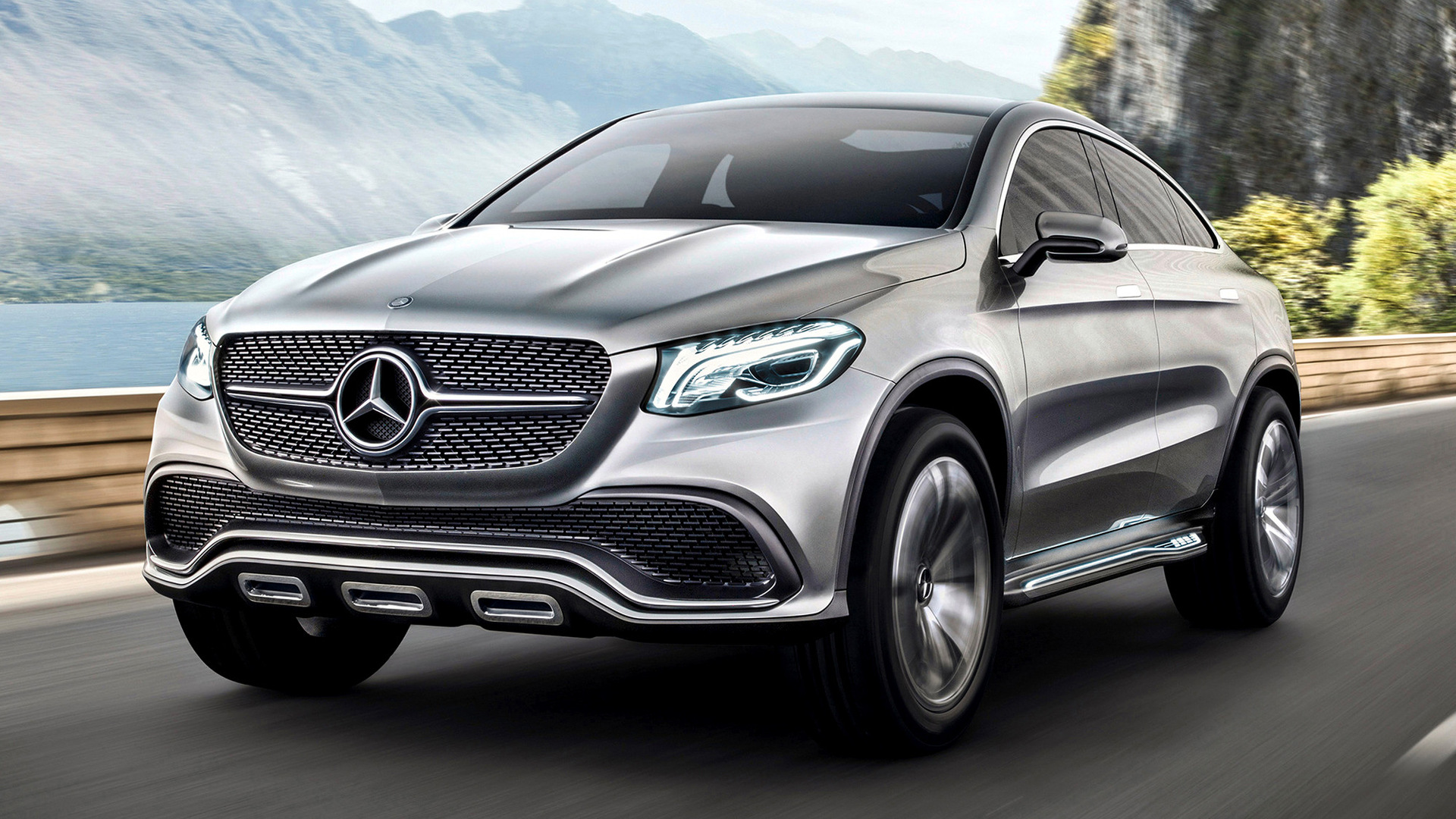 2014 Mercedes Benz Concept Coupe Suv Wallpapers And Hd