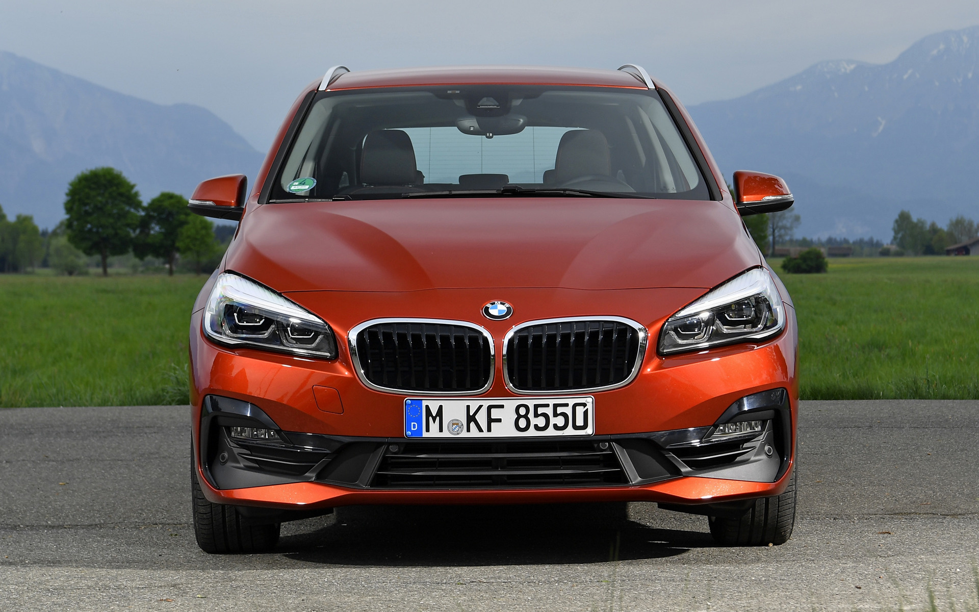 2018 Bmw 2 Series Active Tourer Wallpapers And Hd Images Car Pixel