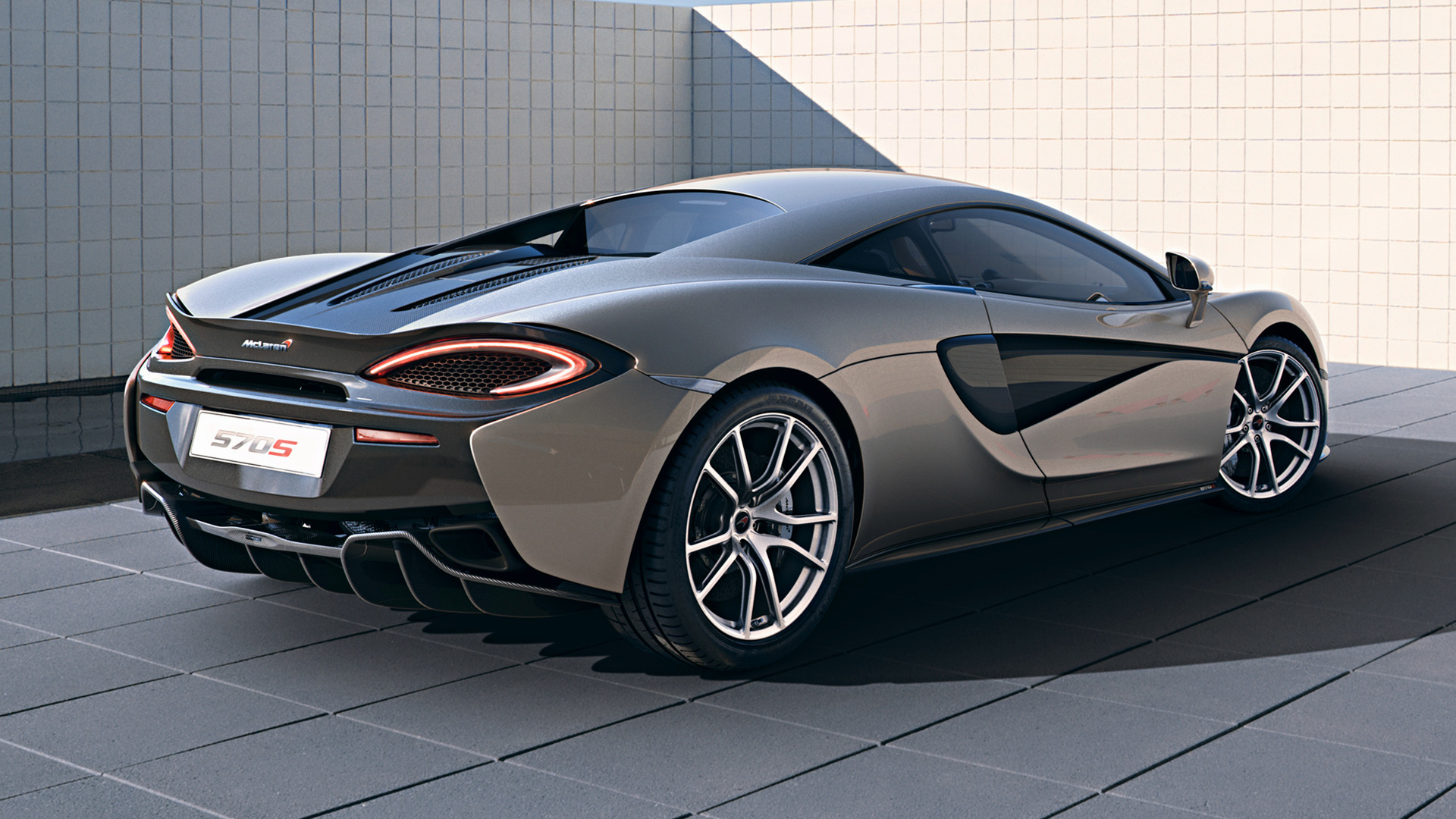 Genesis Coupe 2016 >> 2015 McLaren 570S - Wallpapers and HD Images   Car Pixel