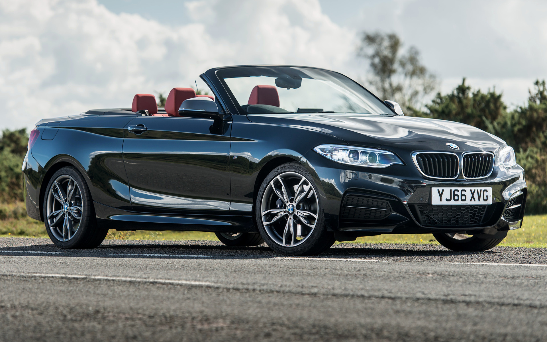 Bmw M240i Convertible 2016 Uk Wallpapers And Hd Images