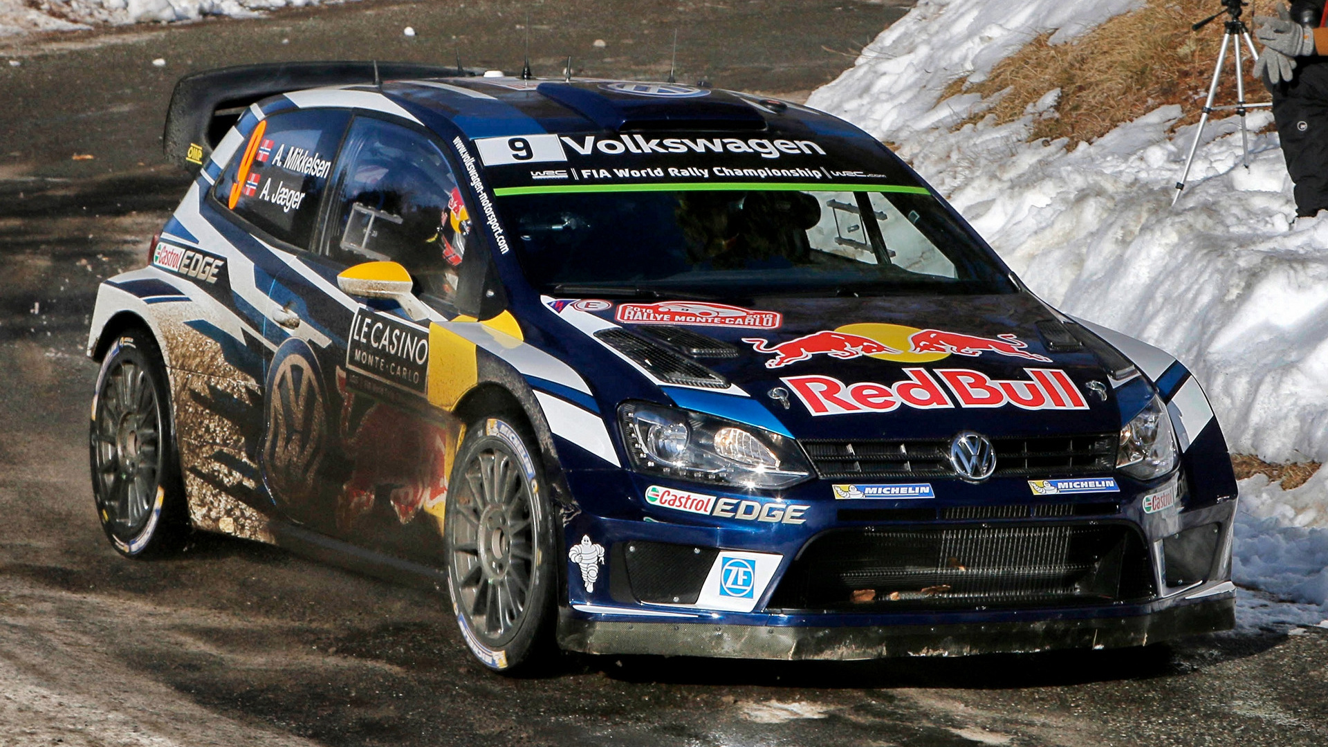 Mitsubishi Eclipse 2016 >> 2016 Volkswagen Polo R WRC - Wallpapers and HD Images | Car Pixel