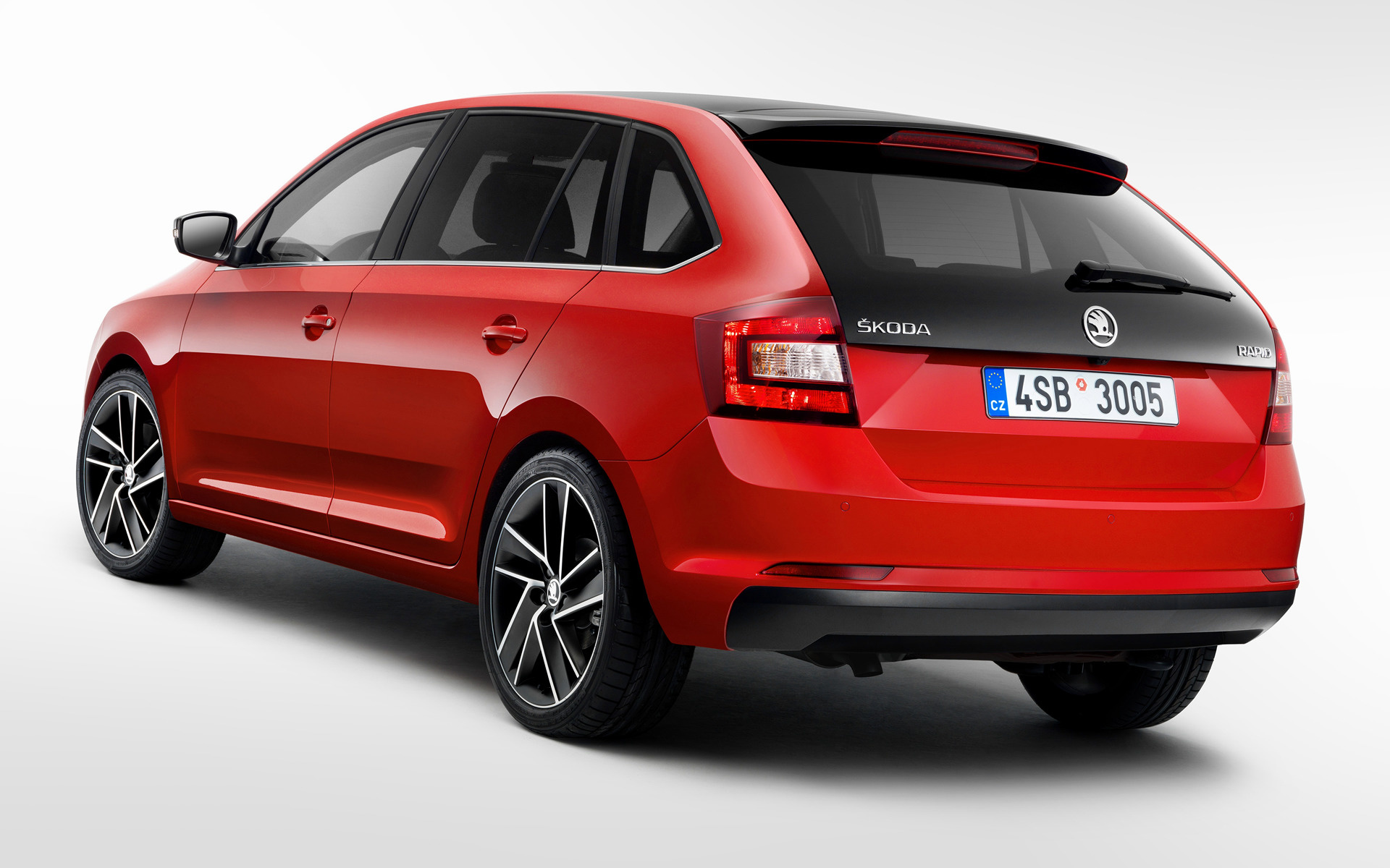 skoda rapid spaceback 2017 wallpapers and hd images car pixel. Black Bedroom Furniture Sets. Home Design Ideas