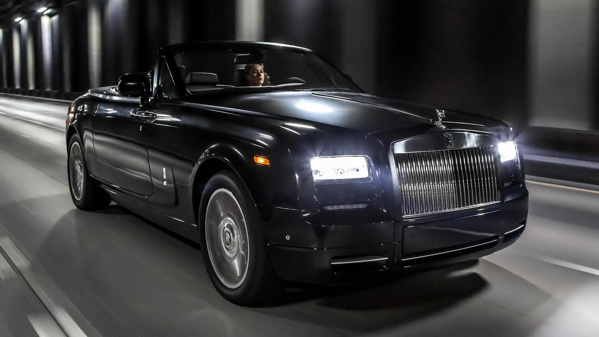 2015 Rolls Royce Phantom Limelight Wallpaper: Rolls-Royce Phantom Drophead Coupe Nighthawk (2015