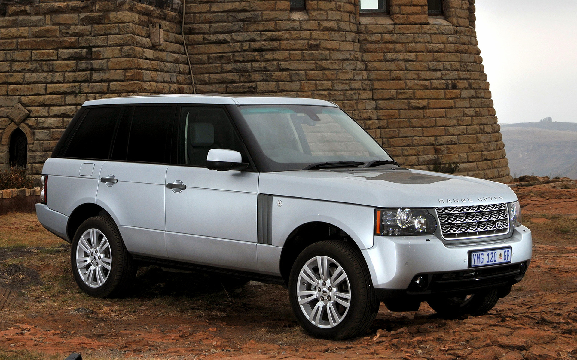 Range Rover Vogue Se 2009 Za Wallpapers And Hd Images Car Pixel