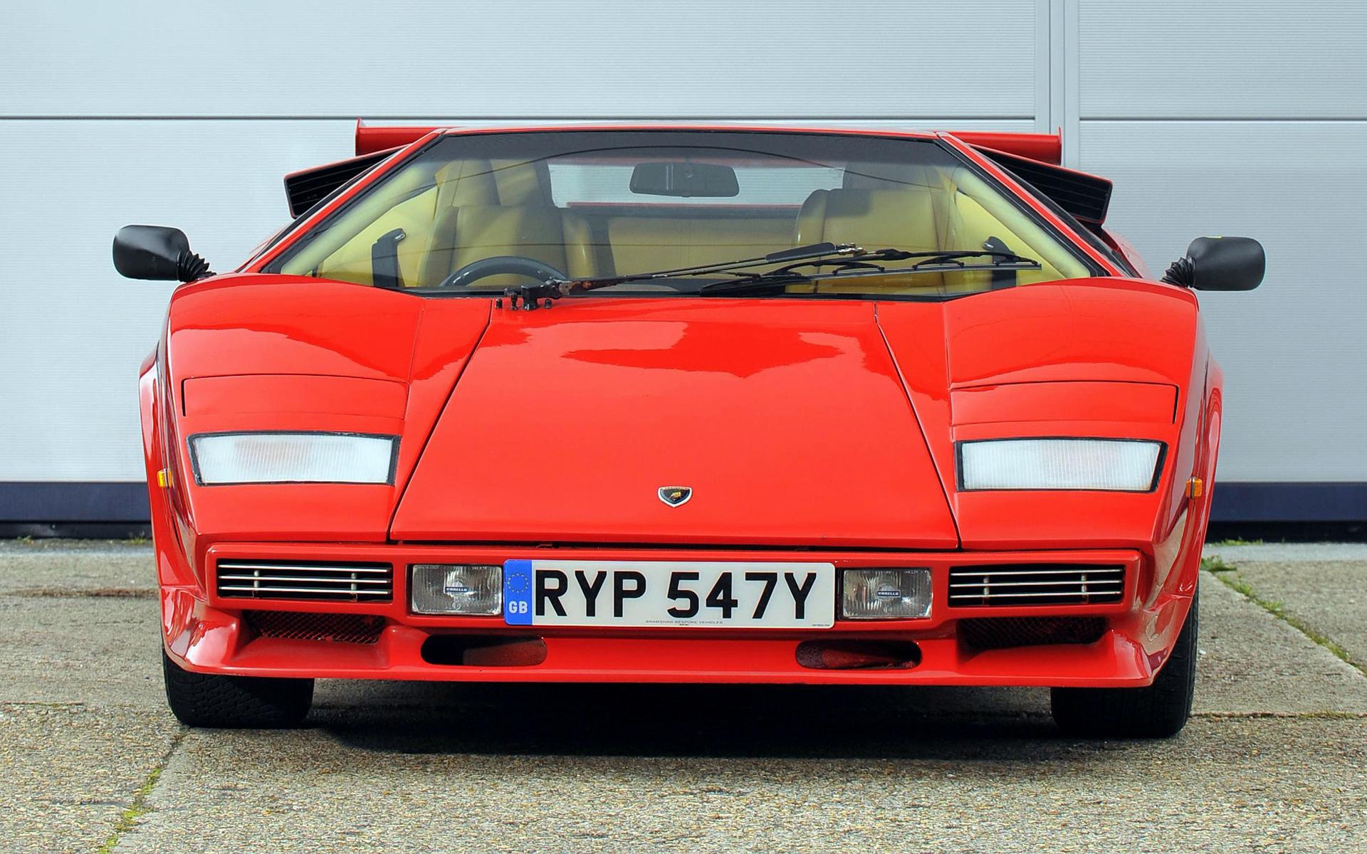 Lamborghini Countach Lp500 S 1982 Uk Wallpapers And Hd