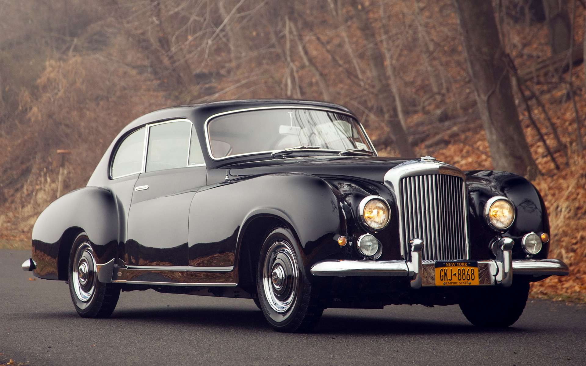 1954 Bentley R Type Continental Sports Saloon By Franay
