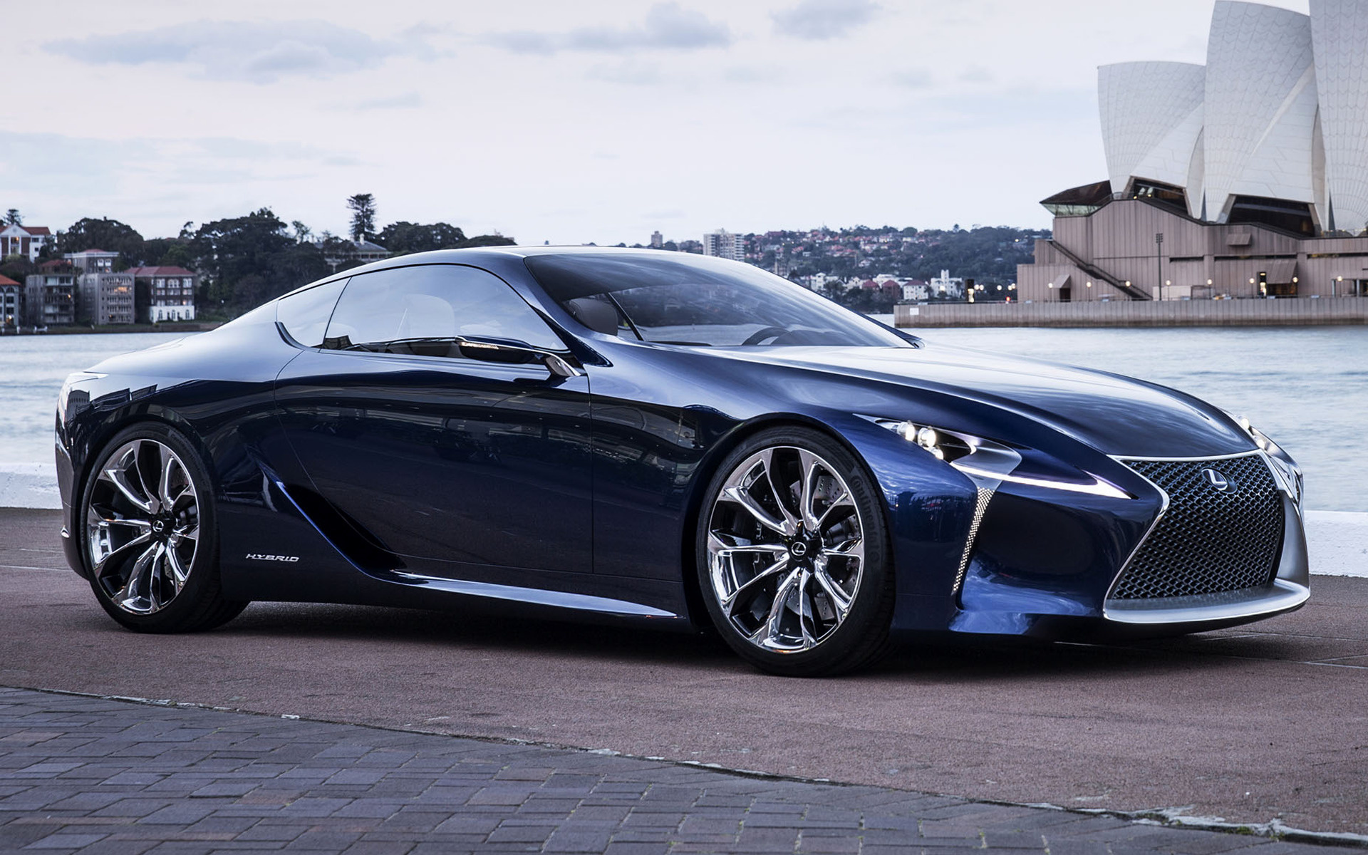 Lexus LF-LC Blue Concept (2012) Wallpapers and HD Images - Car Pixel