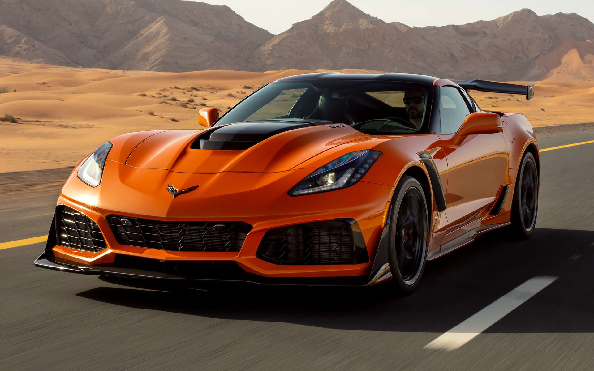 Chevrolet Corvette ZR1 (2018) Wallpapers and HD Images ...
