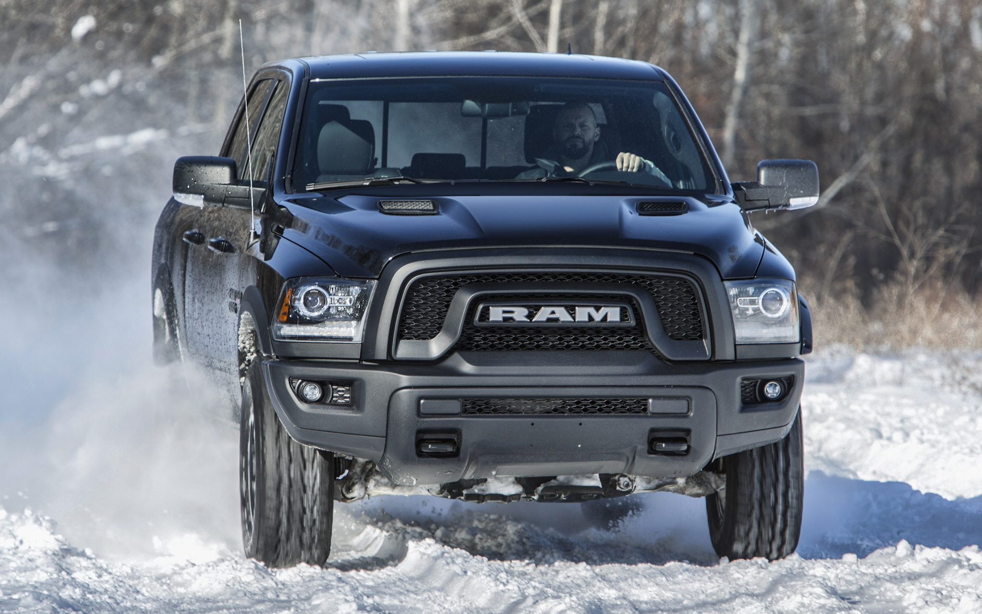 2017 Ram 1500 Rebel Black Crew Cab Wallpapers And Hd