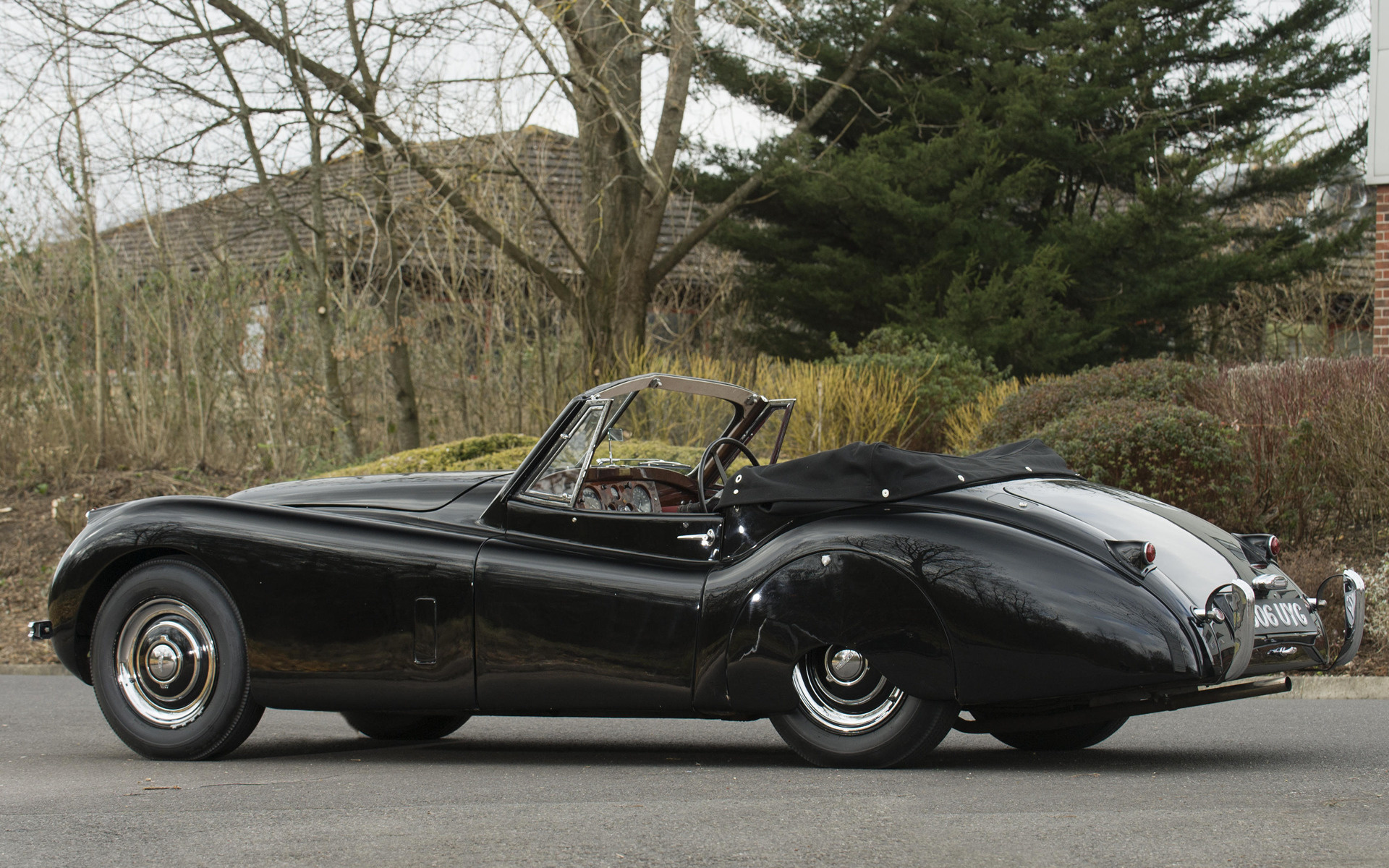 Jaguar XK120 Drophead Coupe (1953) UK Wallpapers and HD Images - Car Pixel