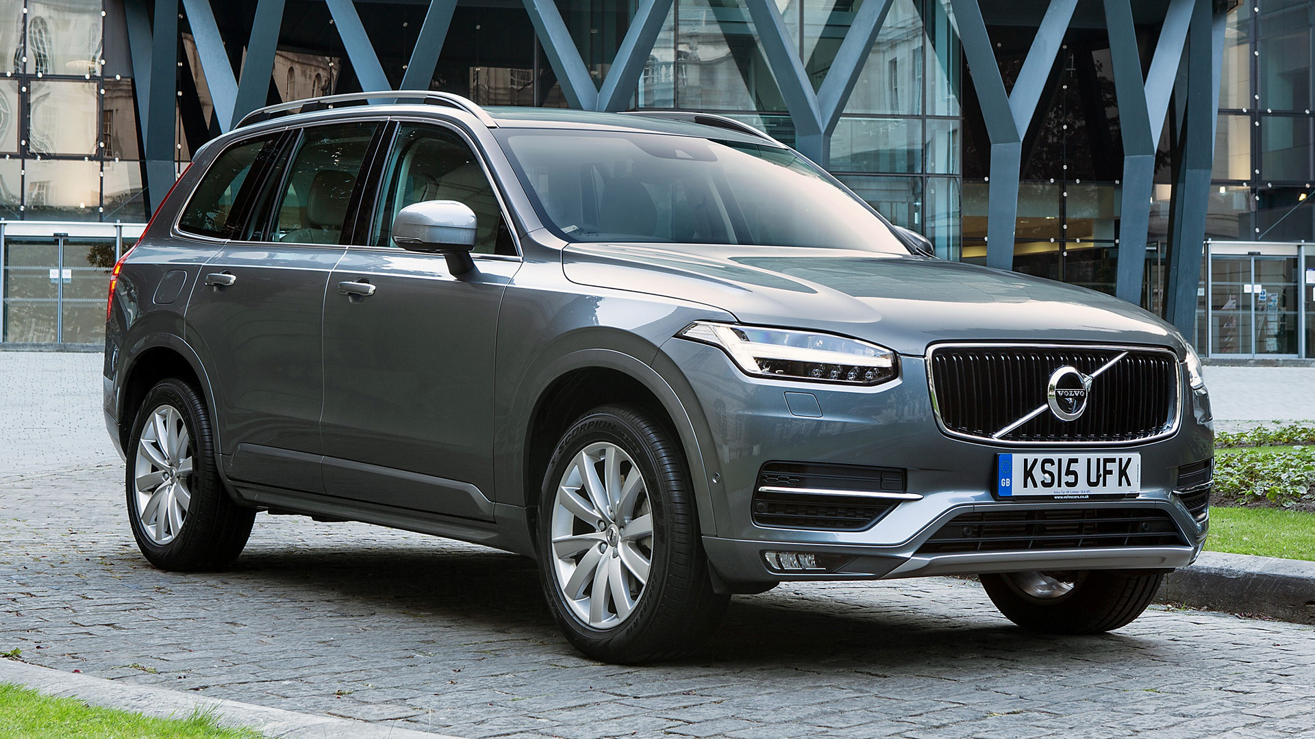 volvo xc90 momentum 2015 uk wallpapers and hd images car pixel. Black Bedroom Furniture Sets. Home Design Ideas