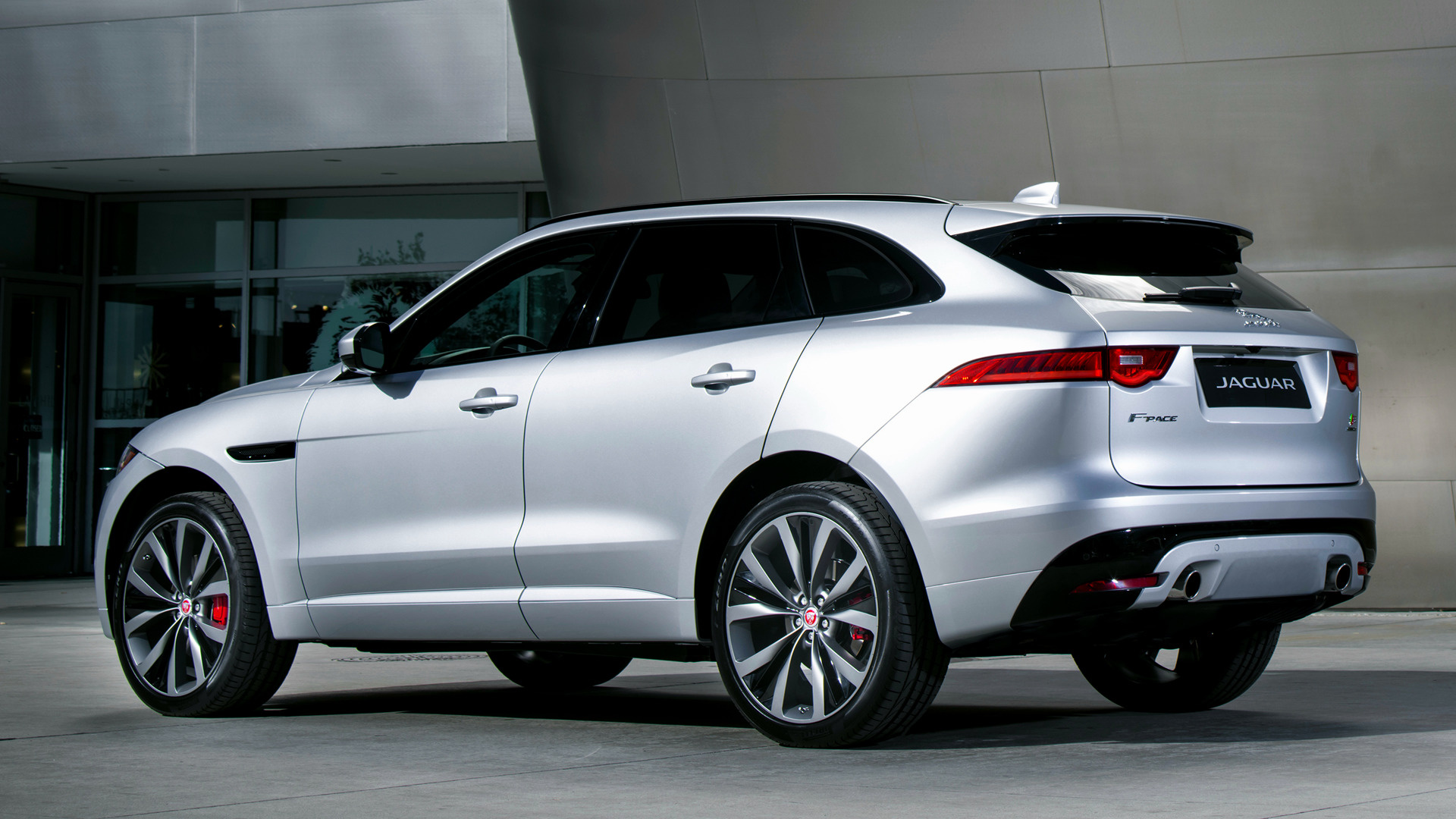 9 Seater Suv >> 2017 Jaguar F-Pace S (US) - Wallpapers and HD Images | Car ...