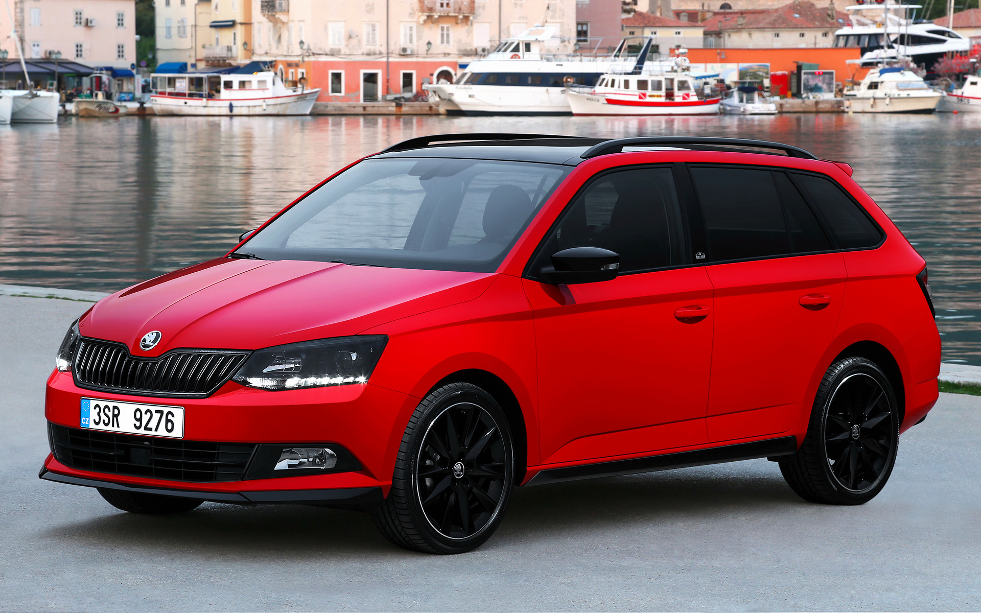 Skoda Fabia Combi Monte Carlo 2015 Wallpapers And Hd