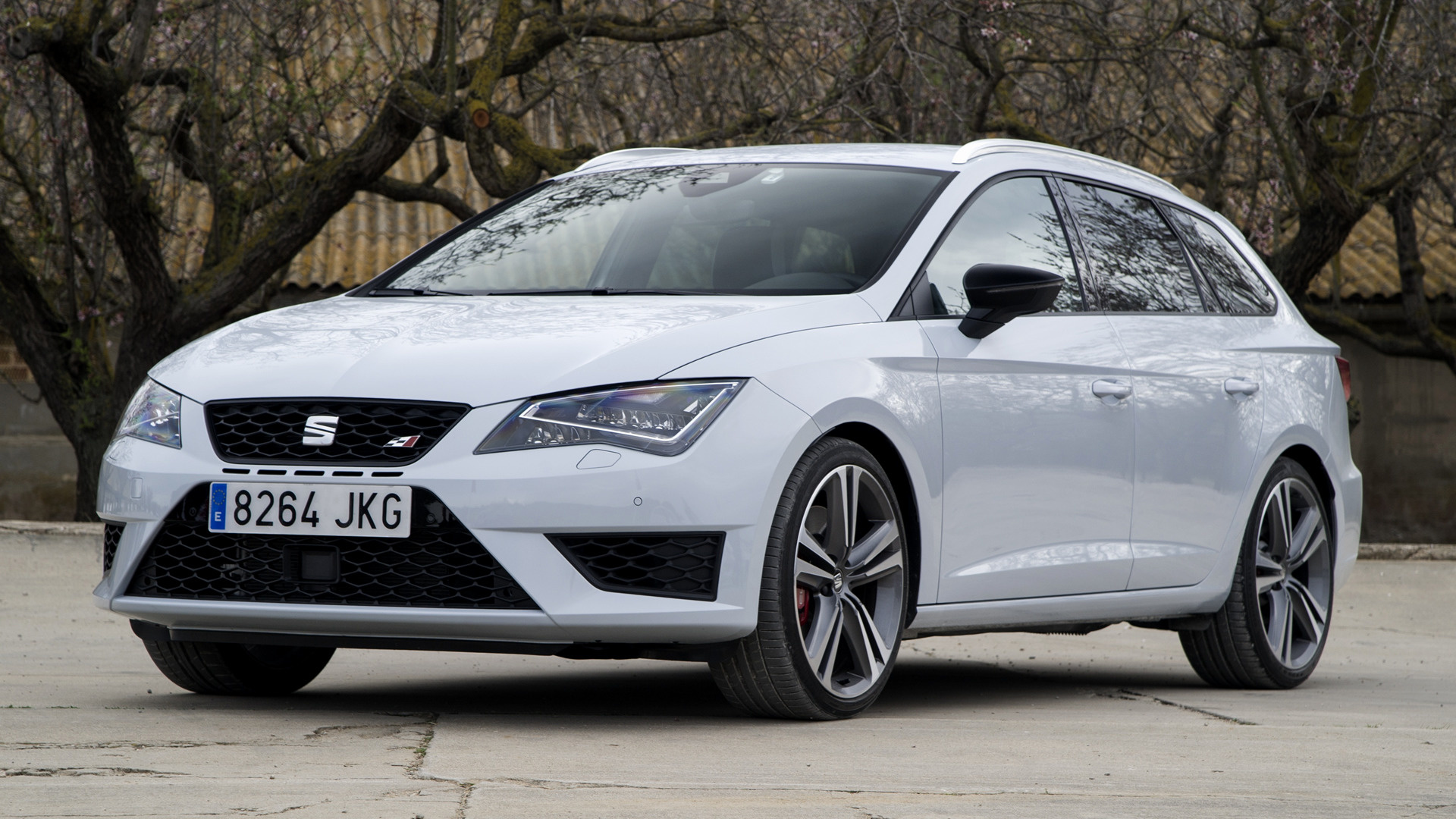 seat leon st cupra 290 2015 wallpapers and hd images car pixel. Black Bedroom Furniture Sets. Home Design Ideas