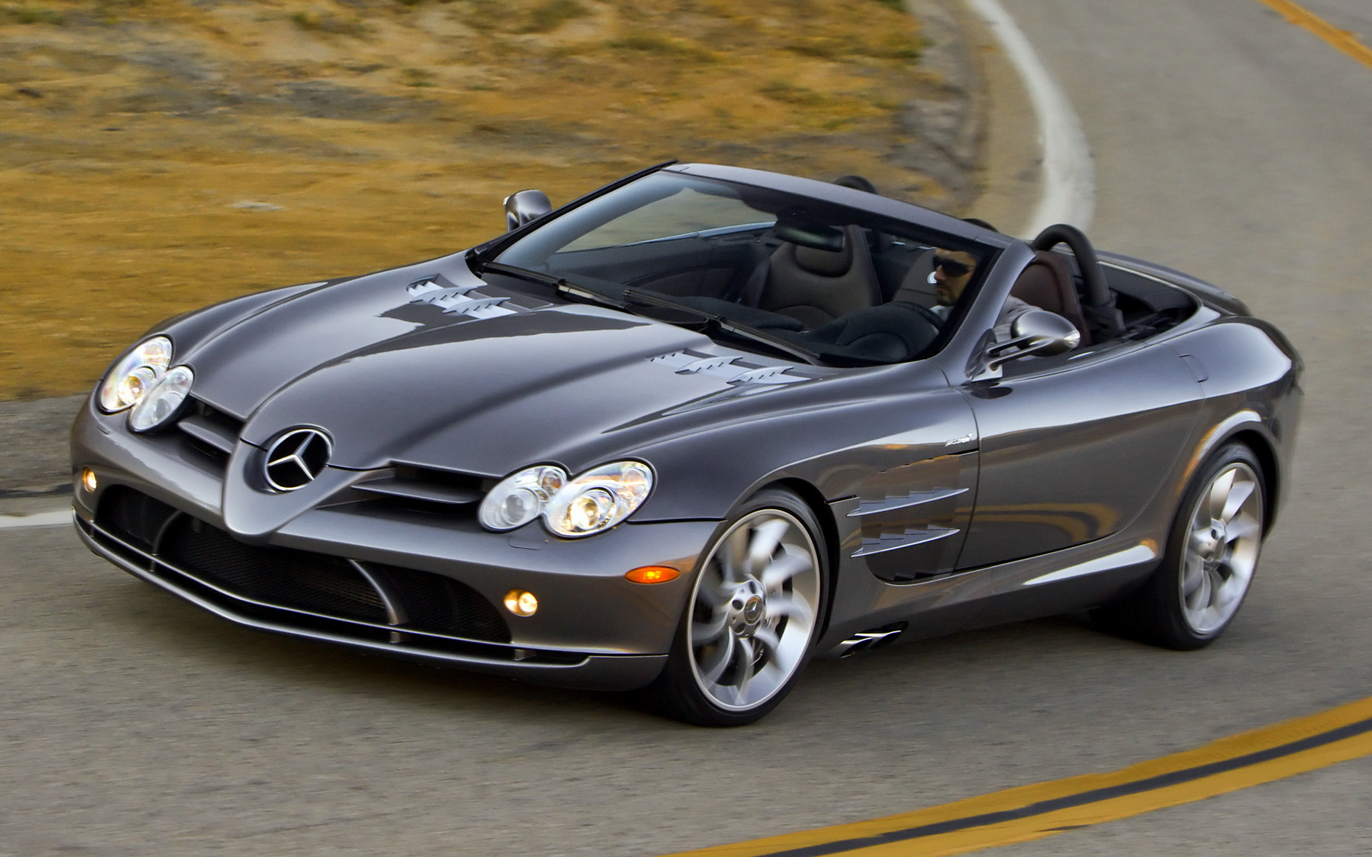 2007 Mercedes-Benz SLR McLaren Roadster (US) - Wallpapers ...