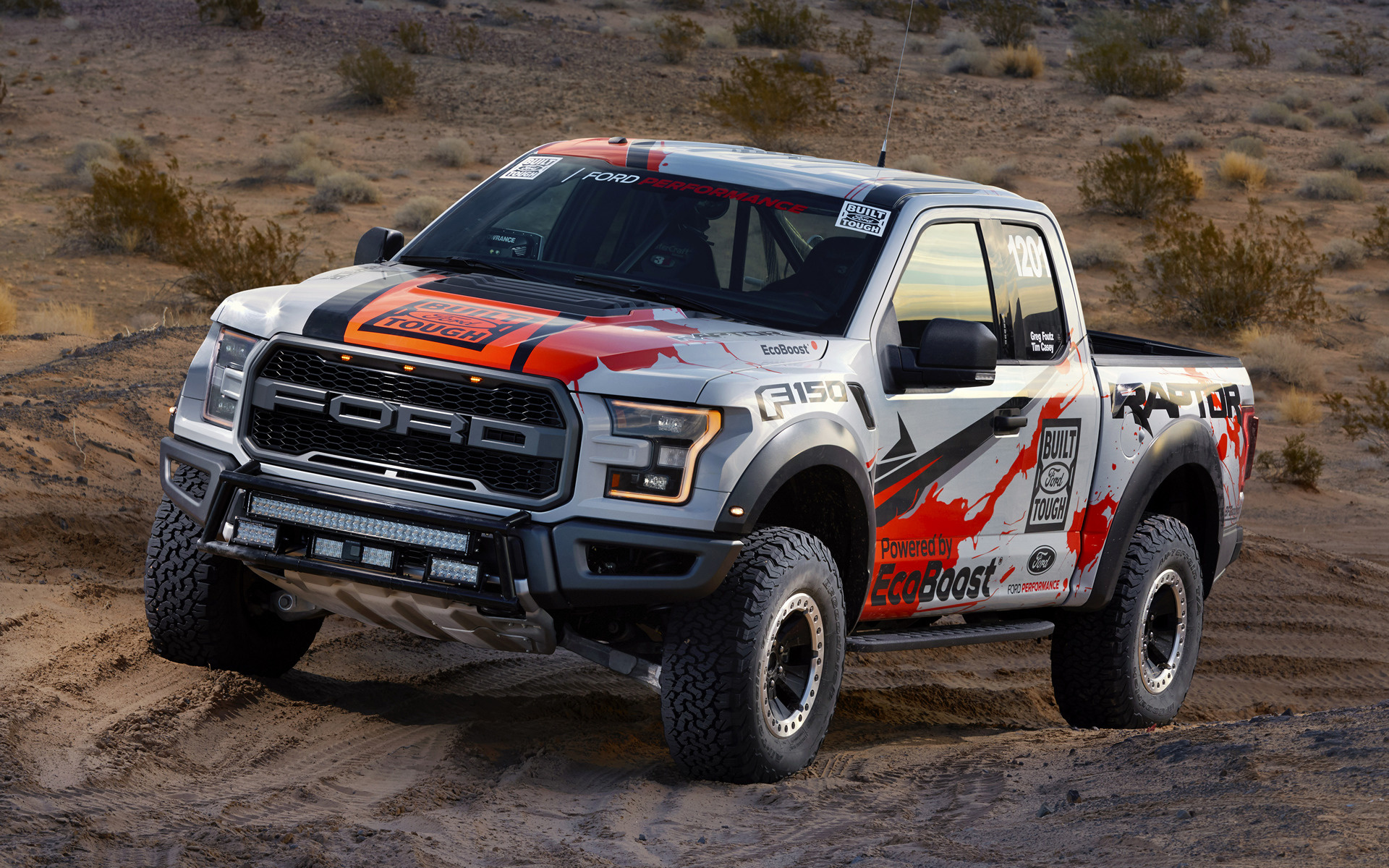 2017 Ford F-150 Raptor Race Truck - Wallpapers and HD ...