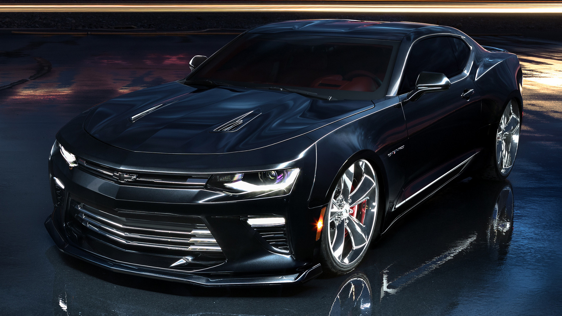 Chevrolet Camaro Slammer Concept 2016 Wallpapers And HD Images