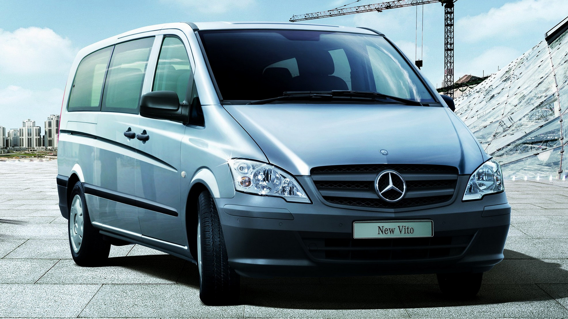 2010 Mercedes-Benz Vito ExtraLong (CN) - Wallpapers and ...
