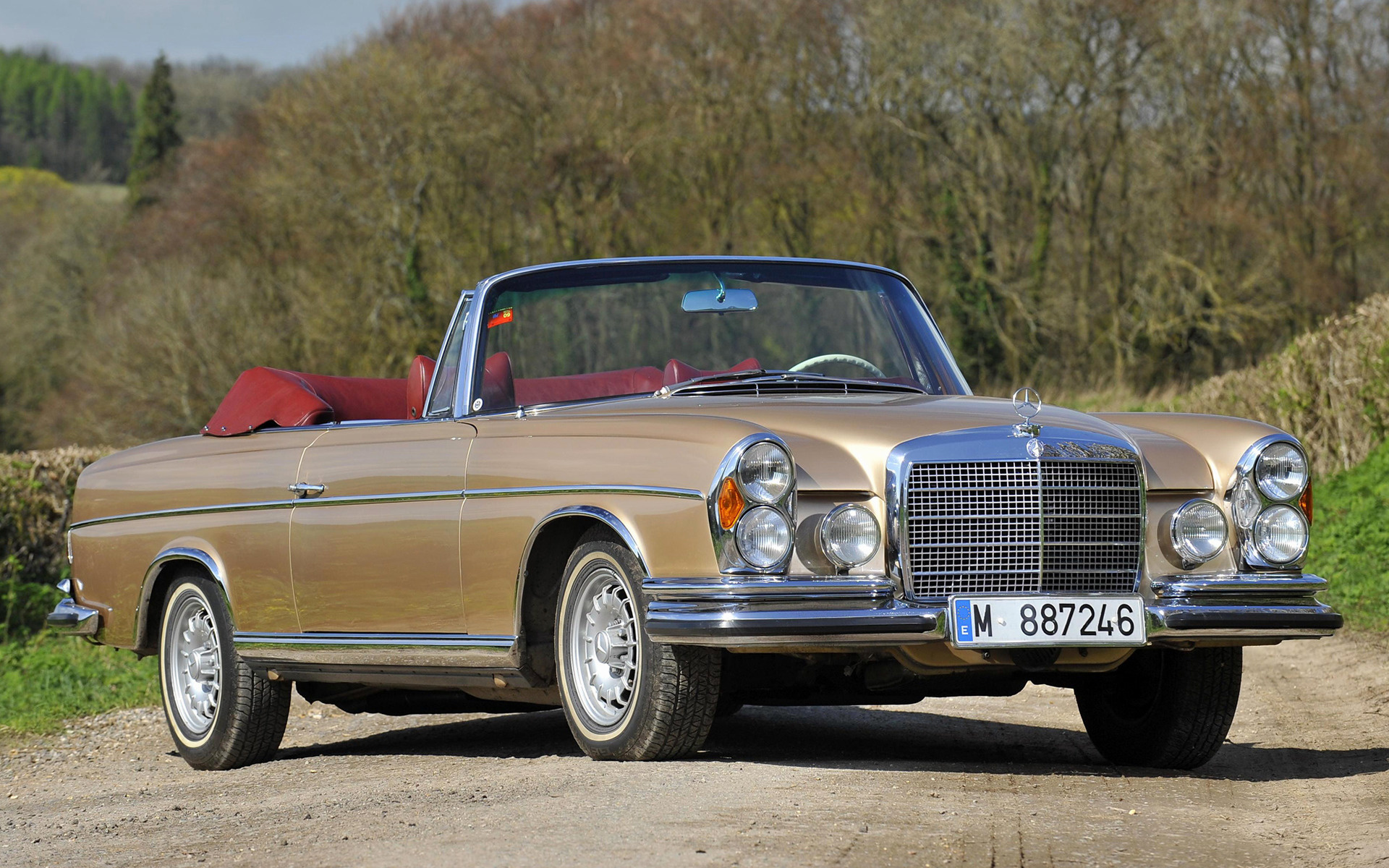 Mercedes benz 280 se cabriolet 1969 wallpapers and hd for 1969 mercedes benz 280 se convertible
