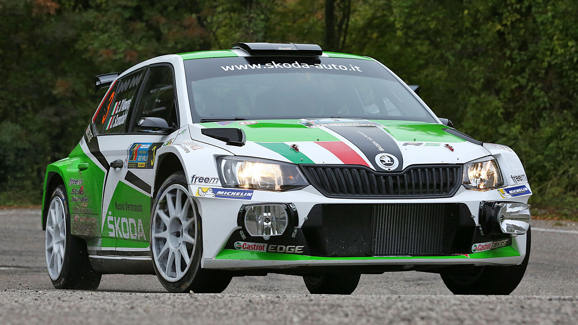 2015 Skoda Fabia R5 - Wallpapers and HD Images | Car Pixel