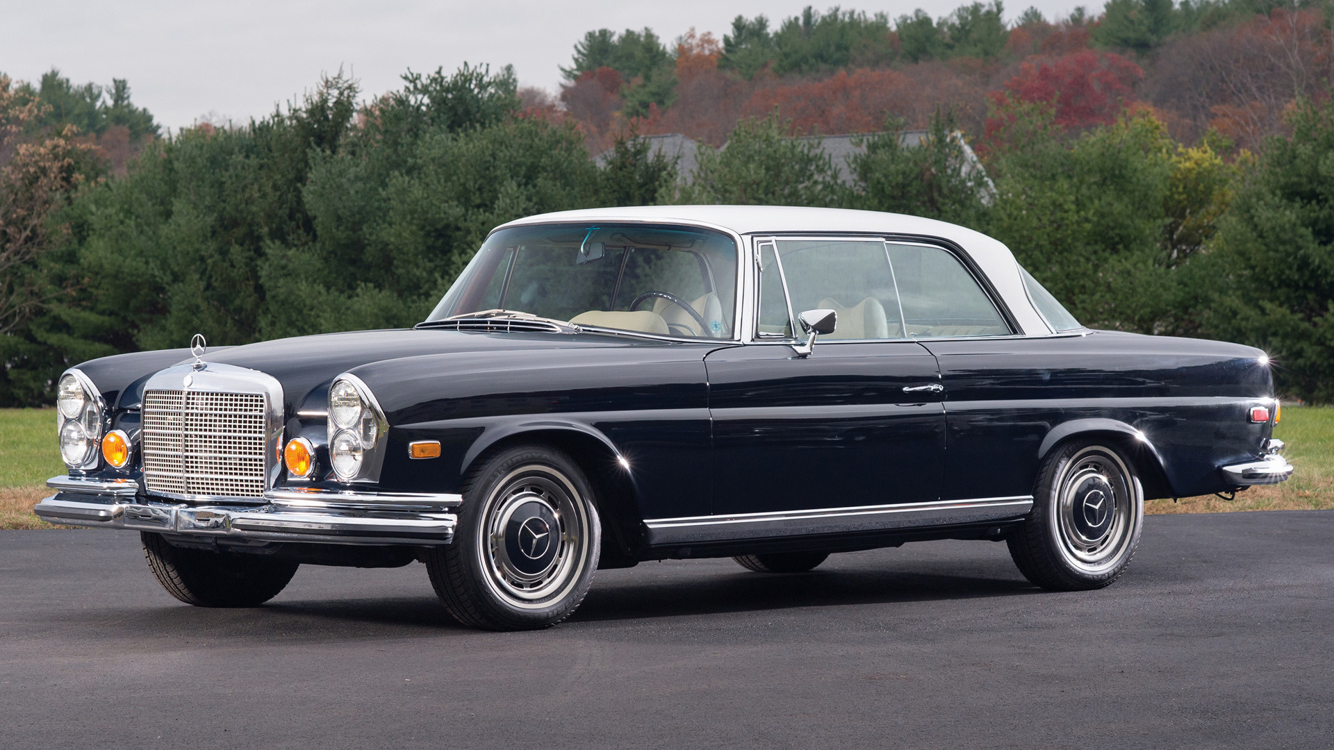1969 mercedes benz 280 se coupe us wallpapers and hd. Black Bedroom Furniture Sets. Home Design Ideas