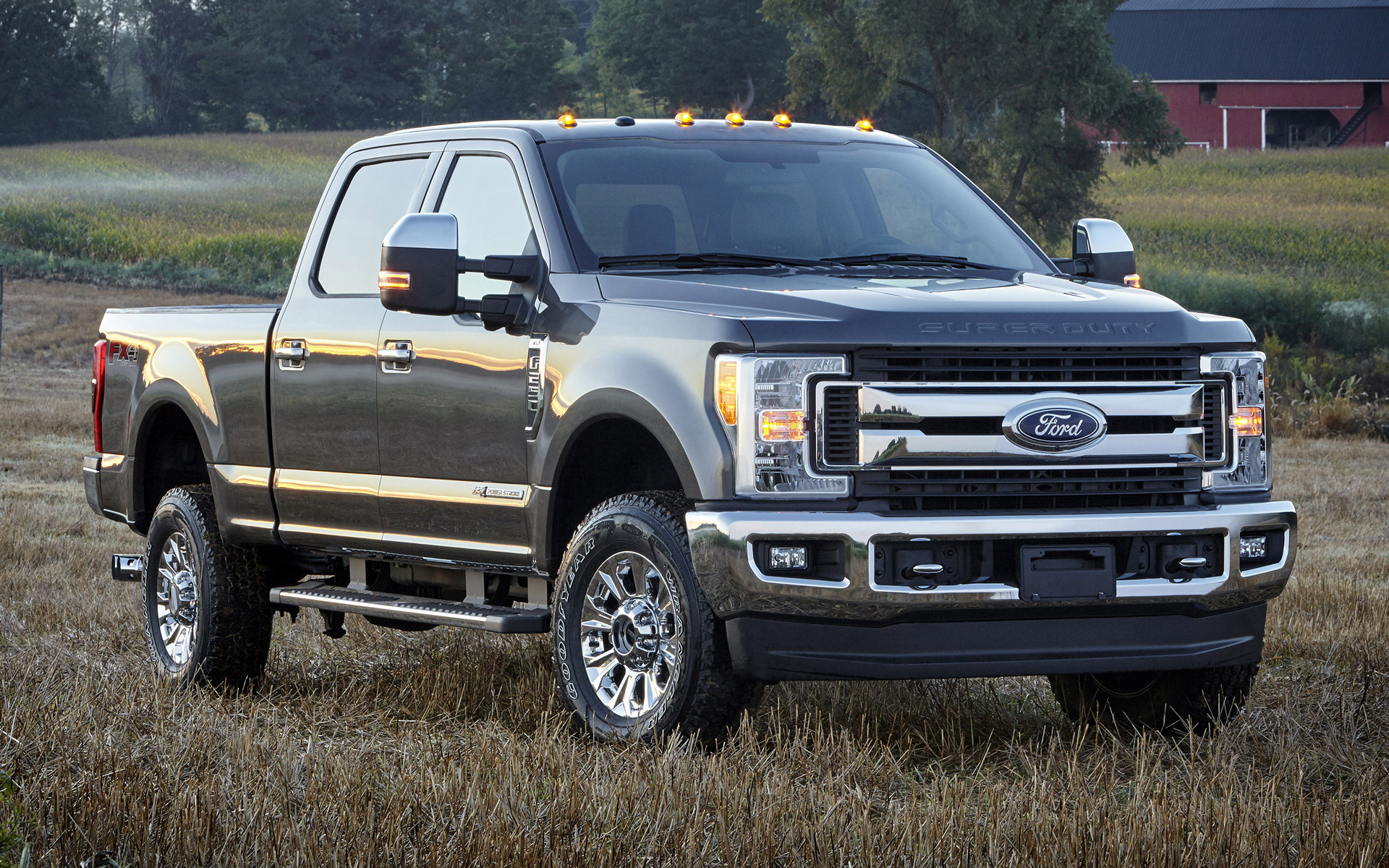 2017 Ford F-250 XLT FX4 Crew Cab - Wallpapers and HD Images | Car Pixel