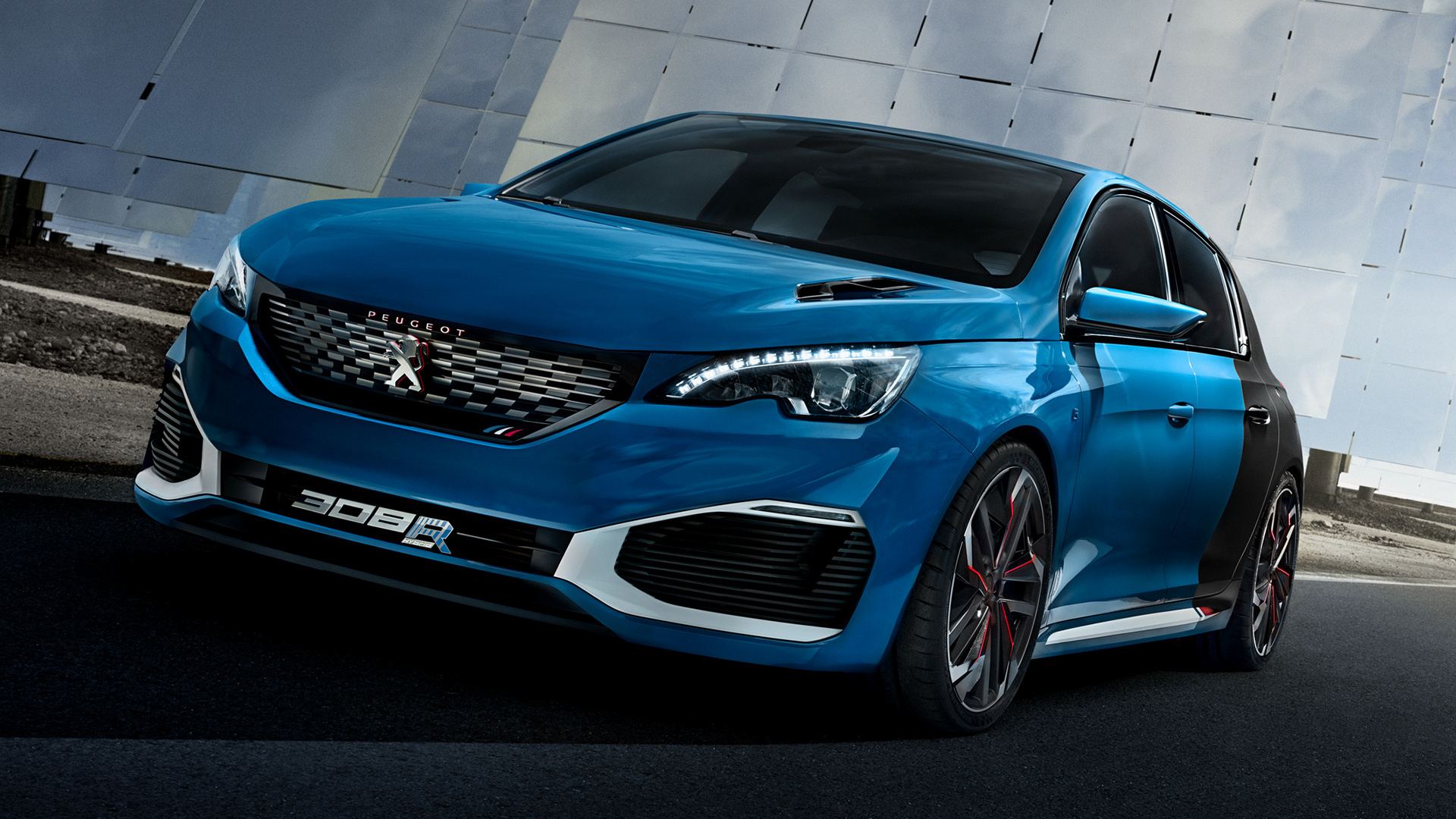 Peugeot 308 R Hybrid Concept 2015 Wallpapers And Hd